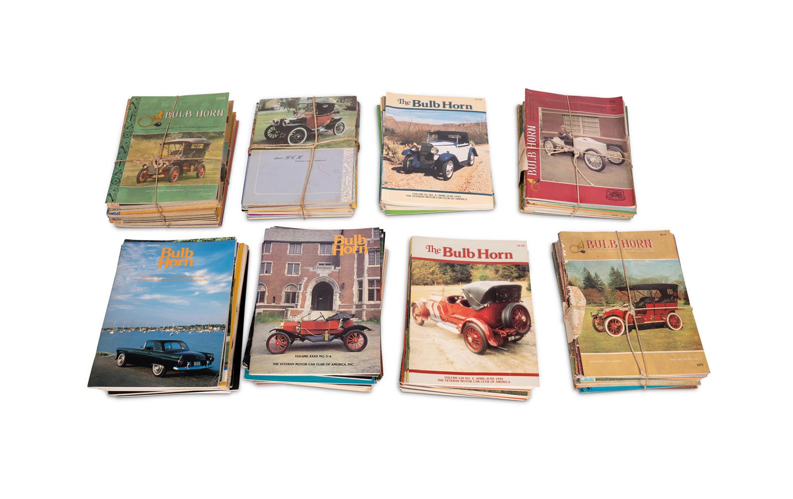 Assorted VMCCA Bulb Horn Magazines