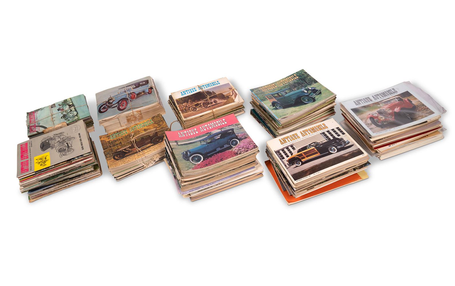 Assorted Antique Automobile Magazines
