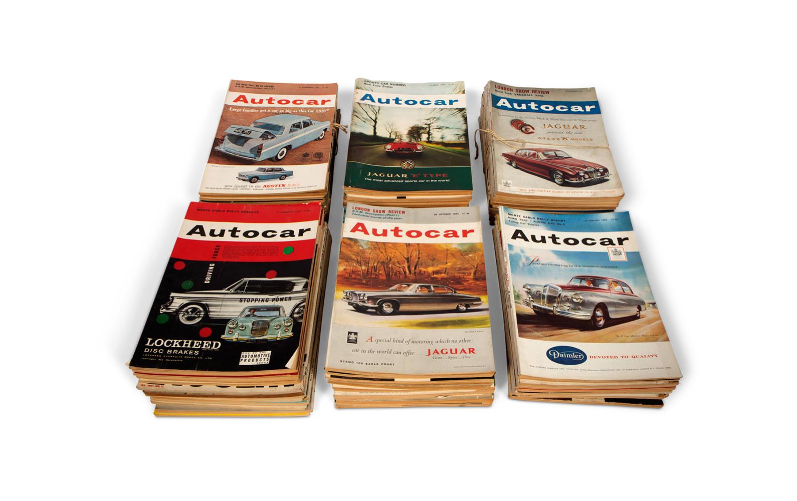 Assorted Autocar Magazines, c. 1960s