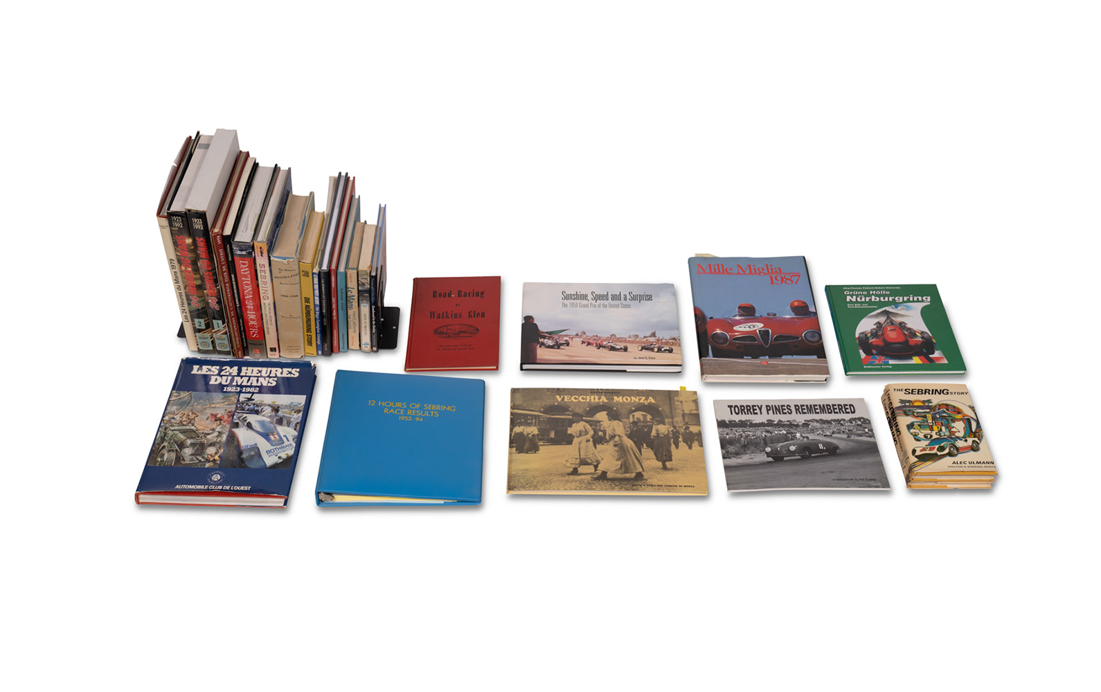 Assorted Books on Motor Racing Venues