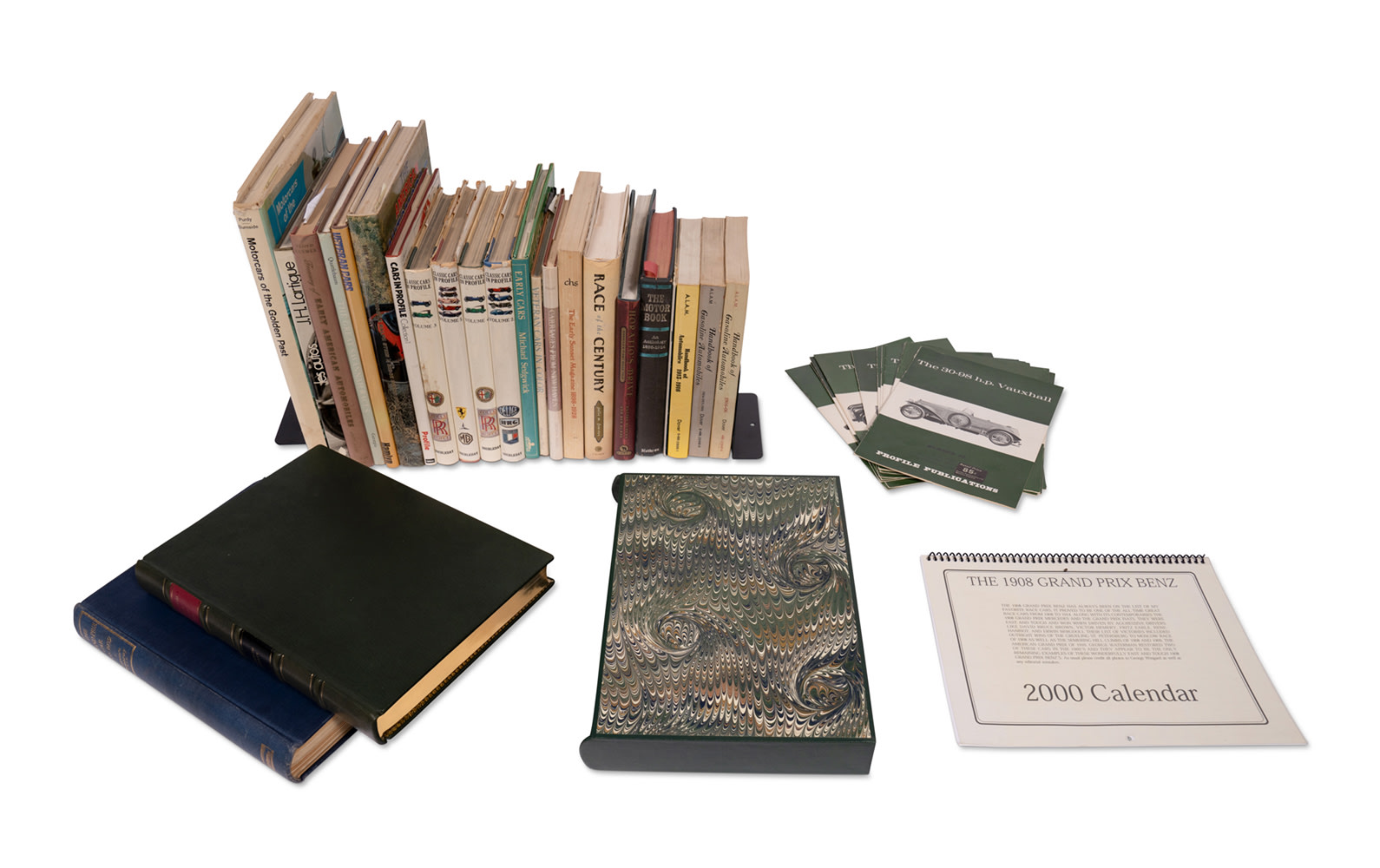 Assorted Books and Publications on Prewar Motoring