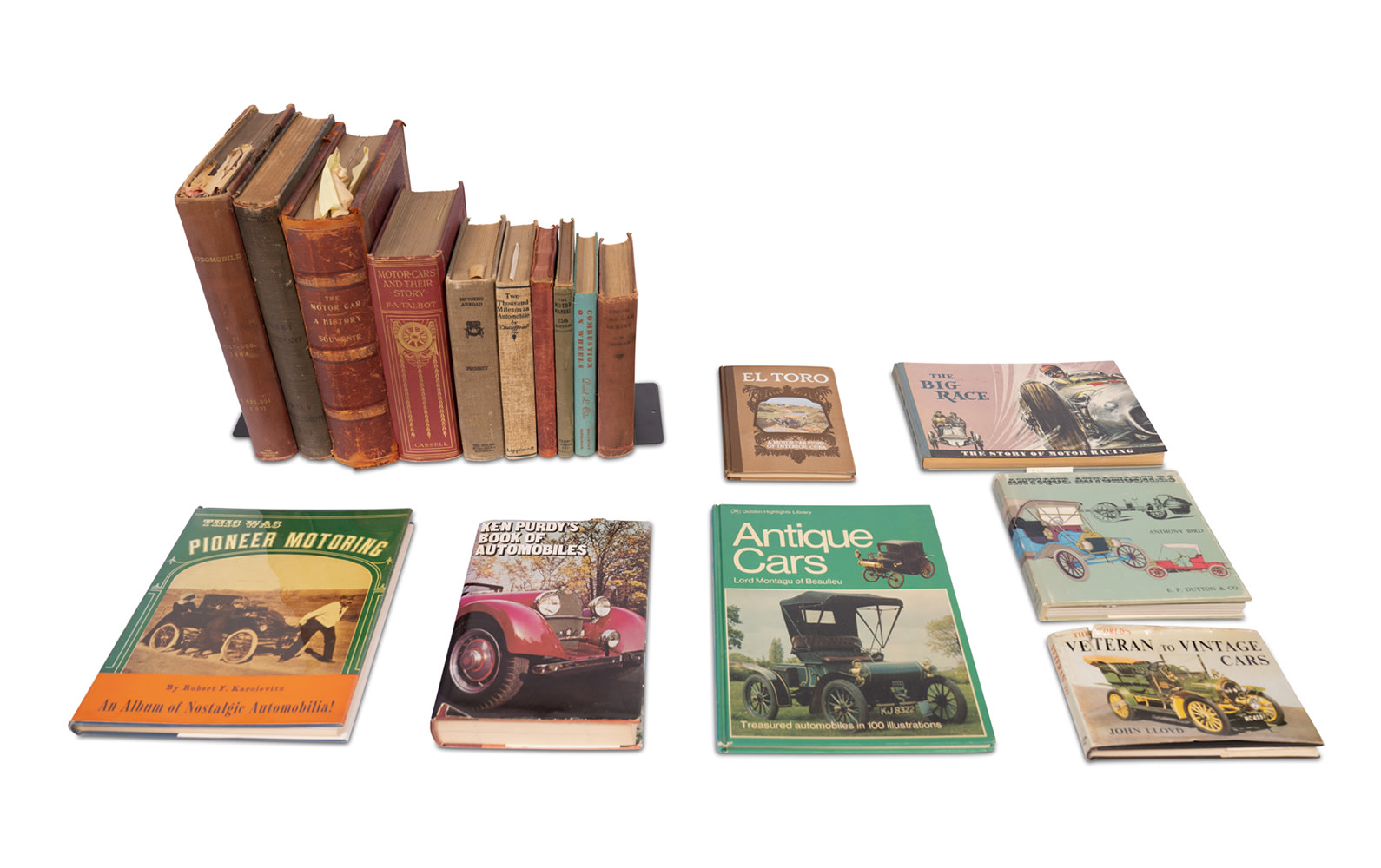 Assorted Early Motoring Books
