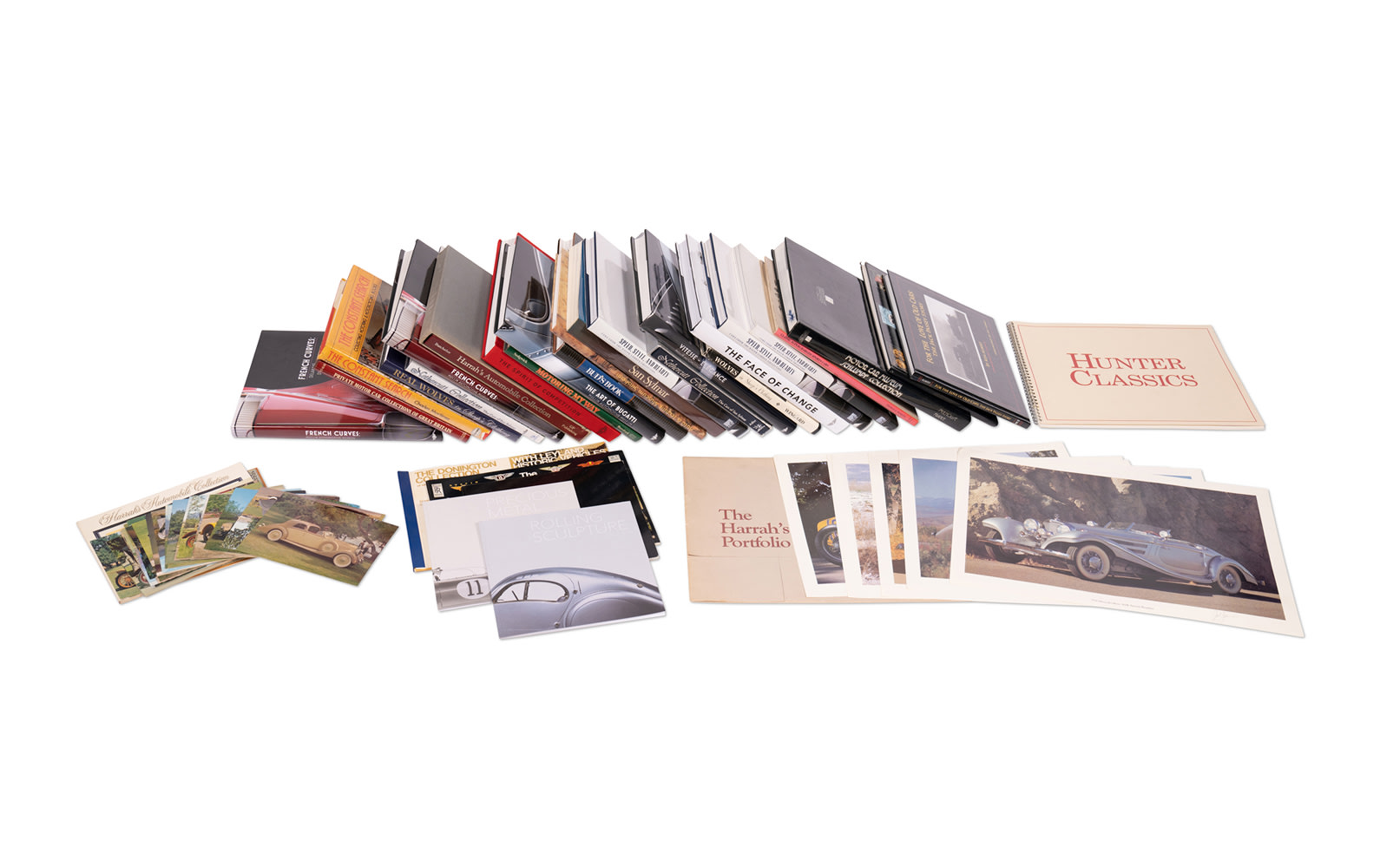 Assorted Books on Famous Car Collections