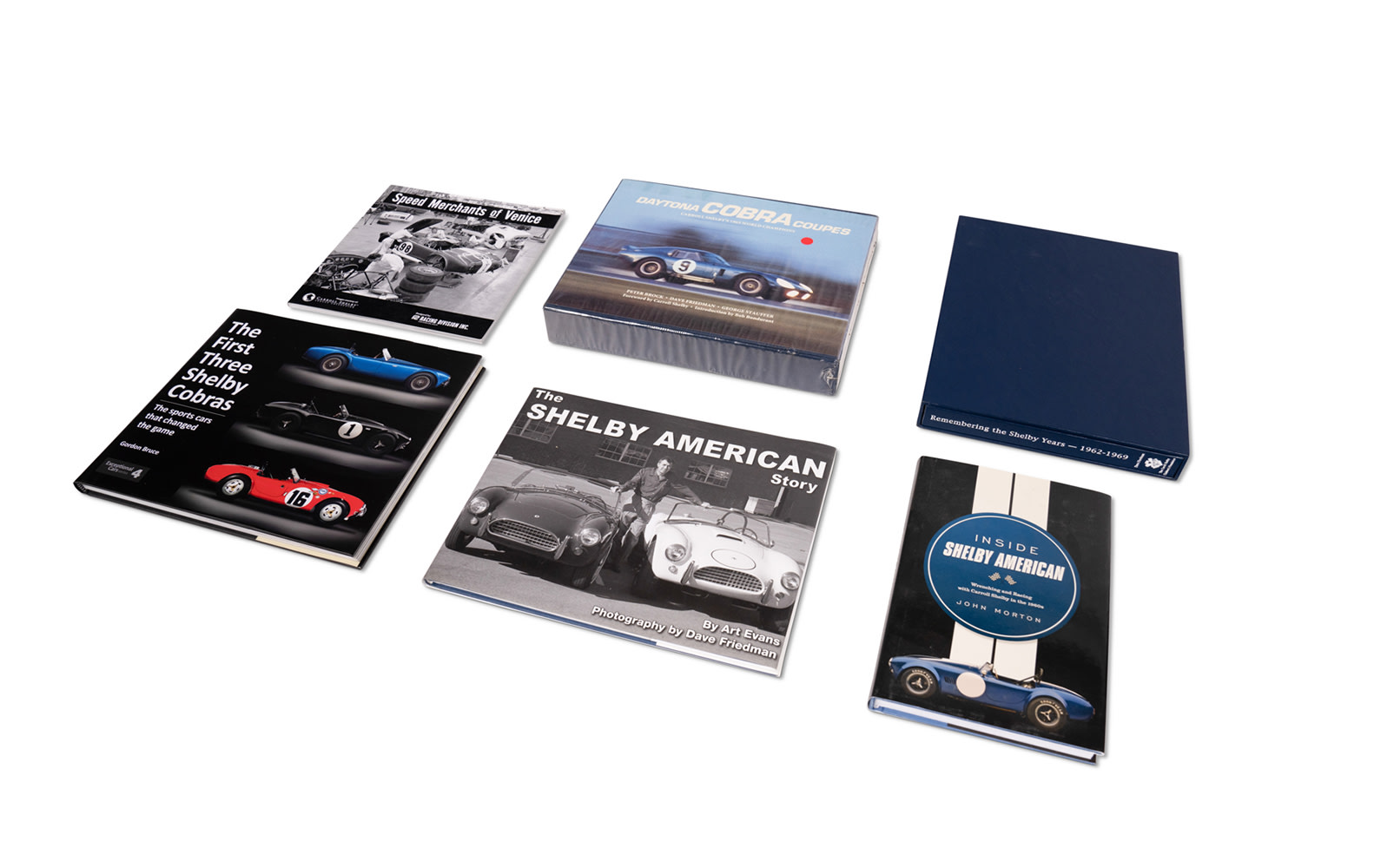 Assorted Shelby American Books