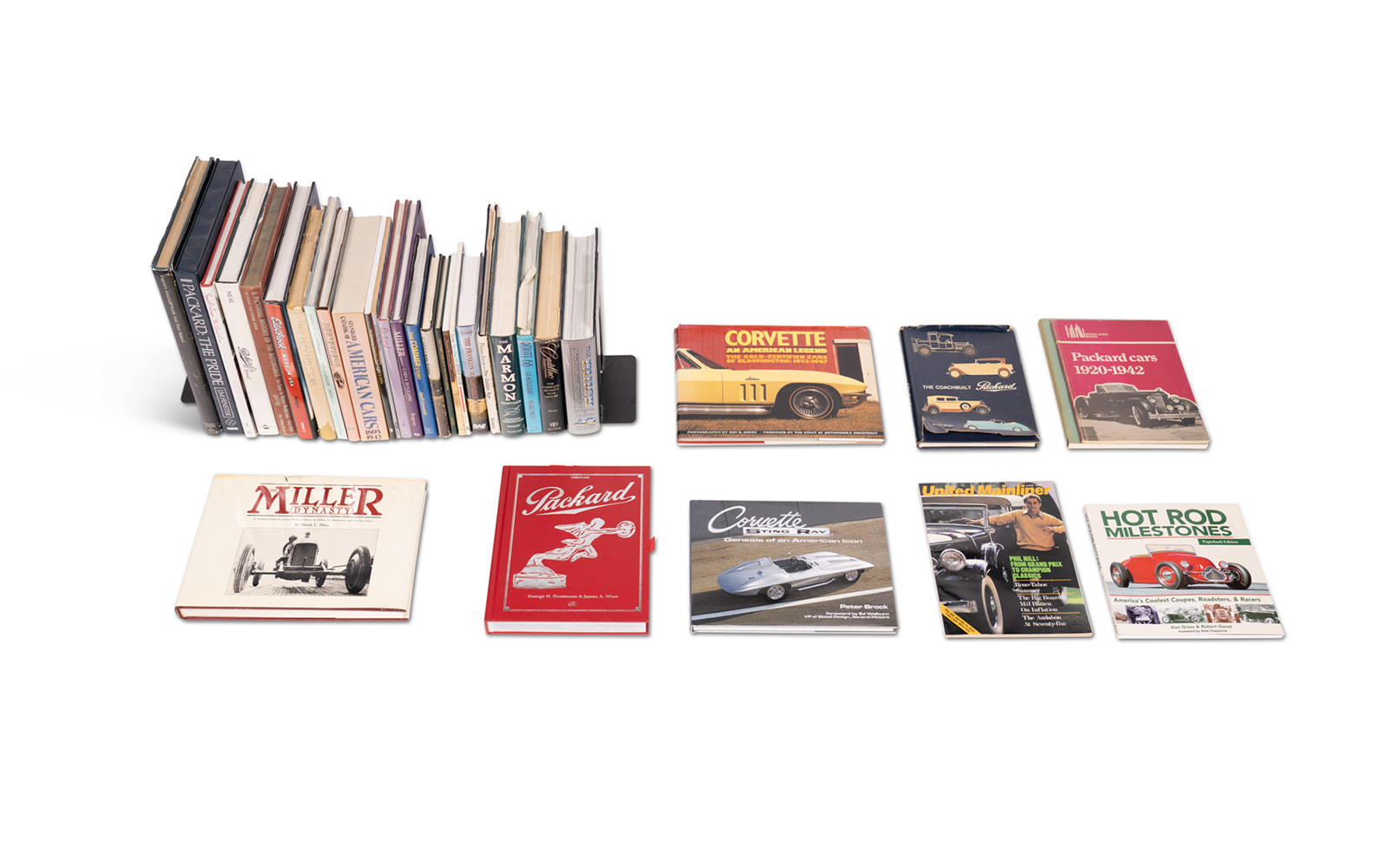 Assorted Books on American Cars