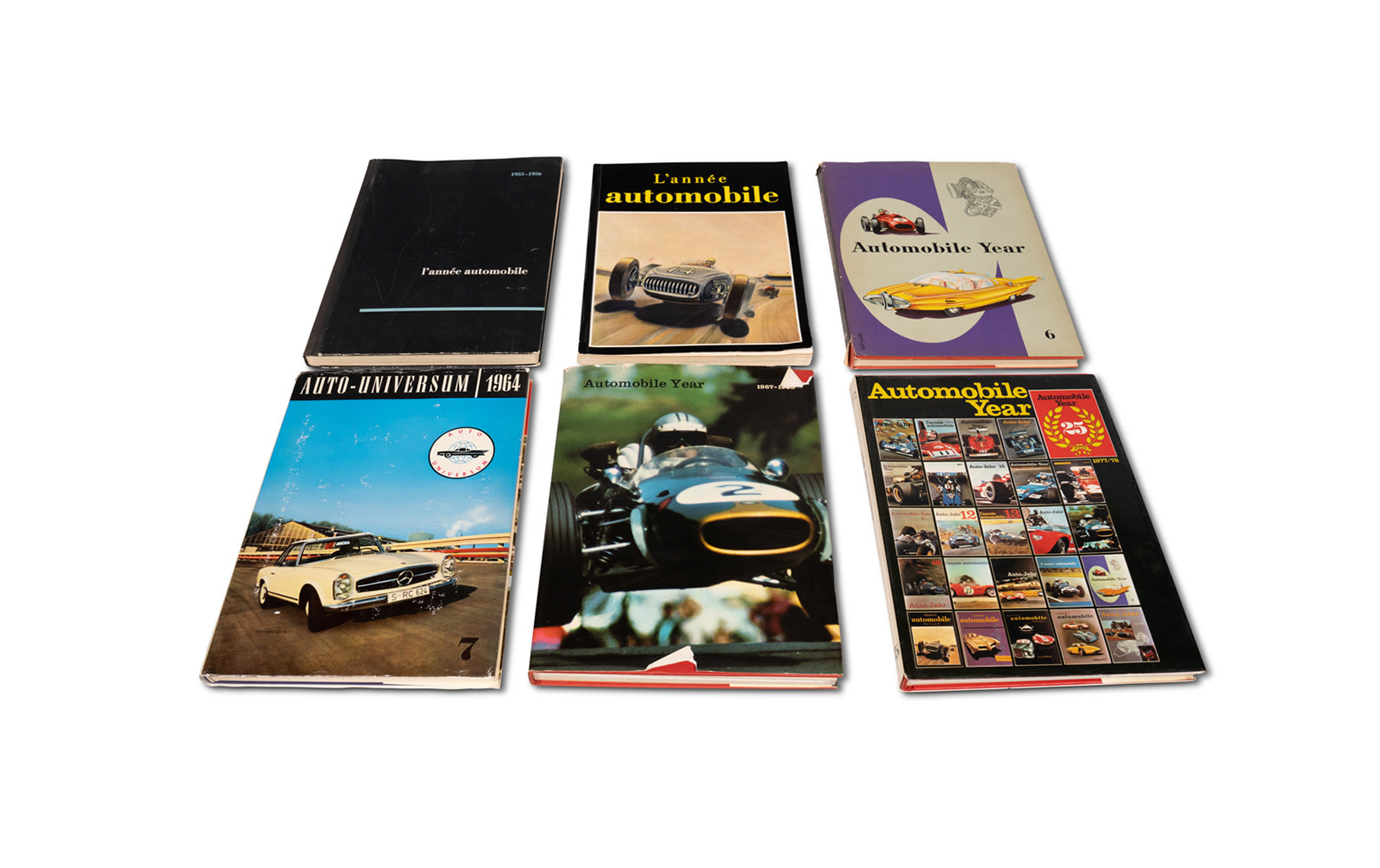 Assorted Automotive Annuals