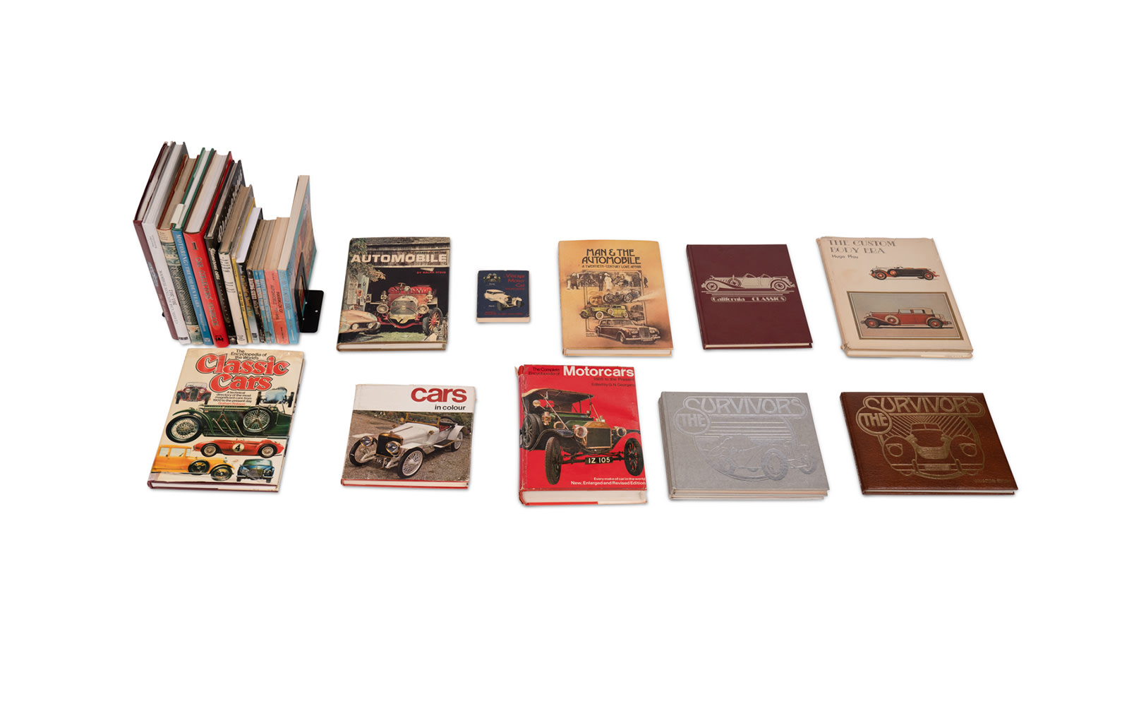 Assorted Books on Classic Automobiles