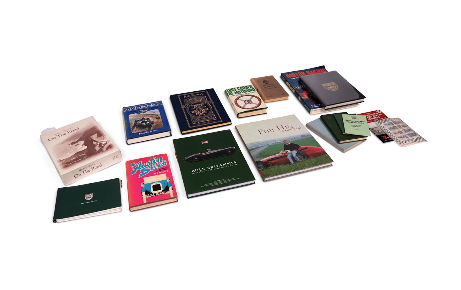 Assorted Motoring Books