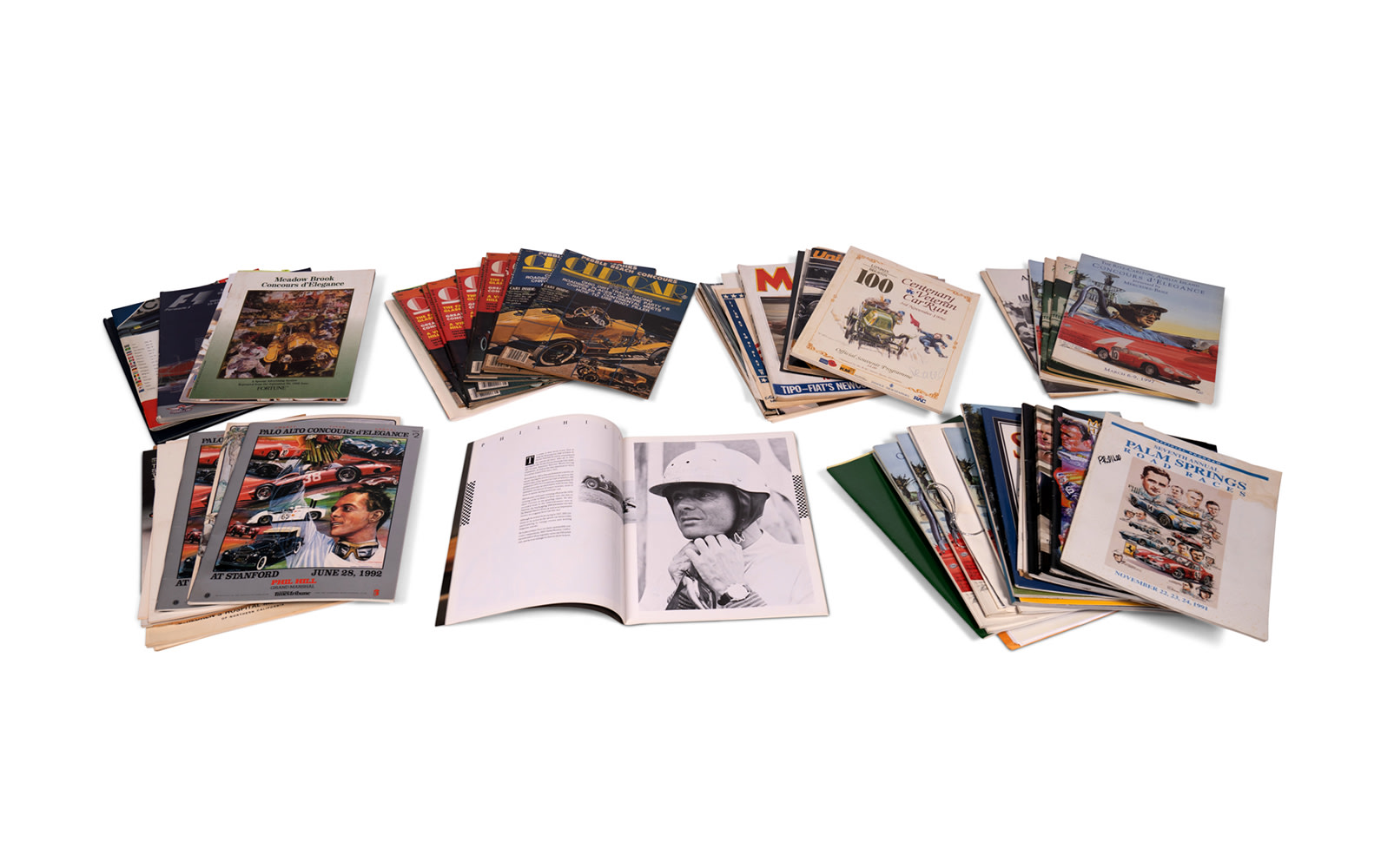 Assorted Concours, Vintage Race, and Event Programs