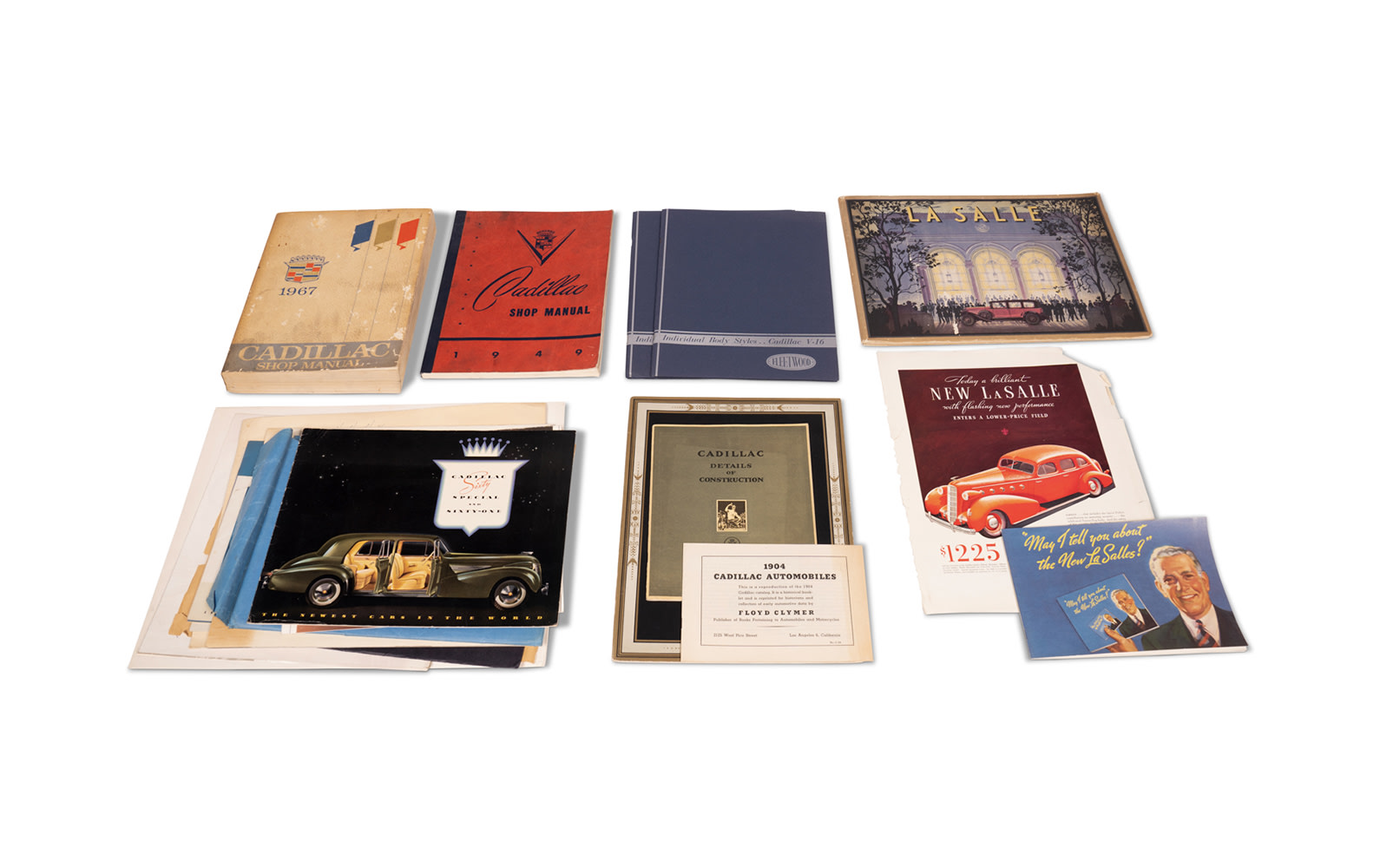 Assorted Cadillac and LaSalle Literature