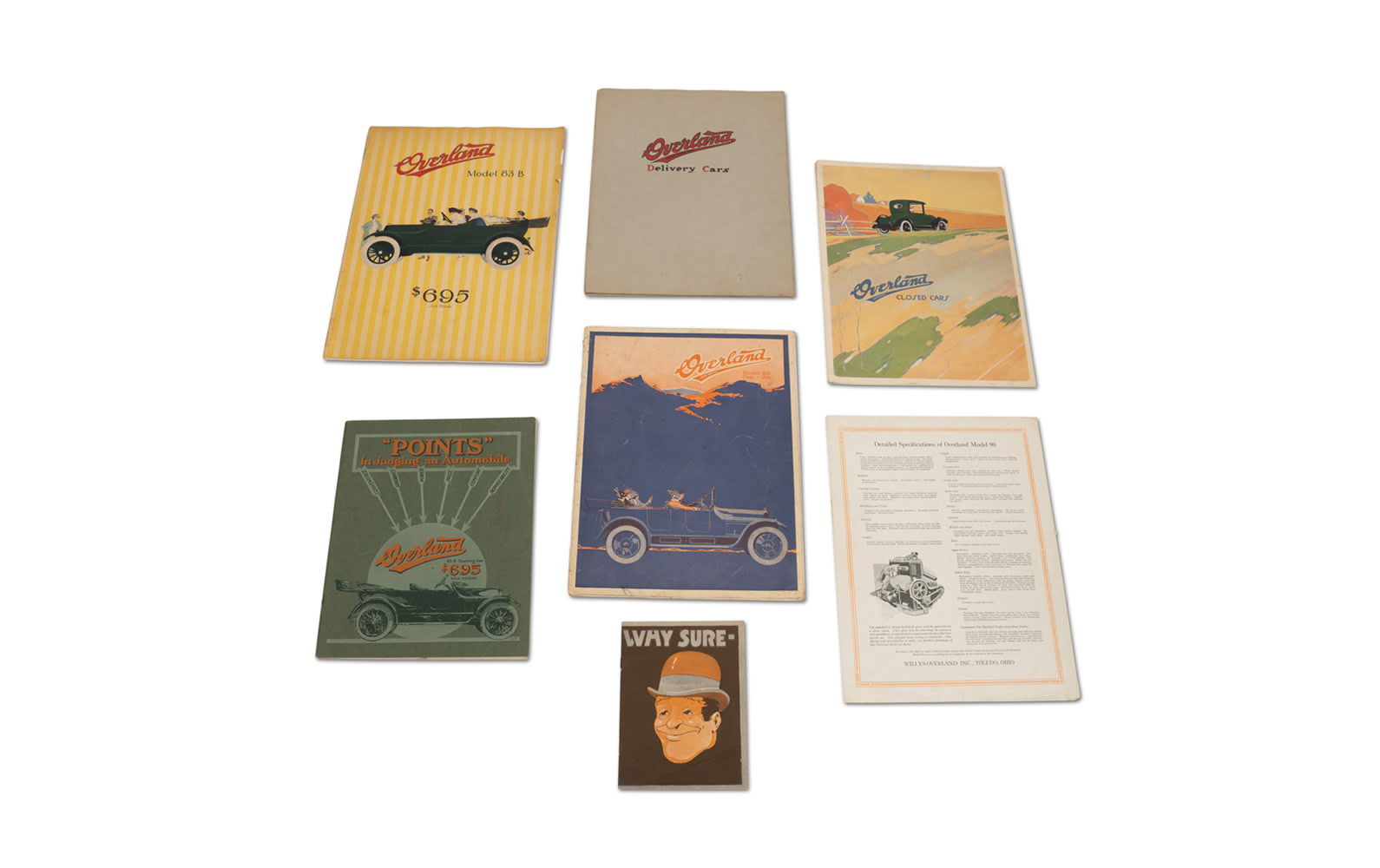 Assorted Overland Literature
