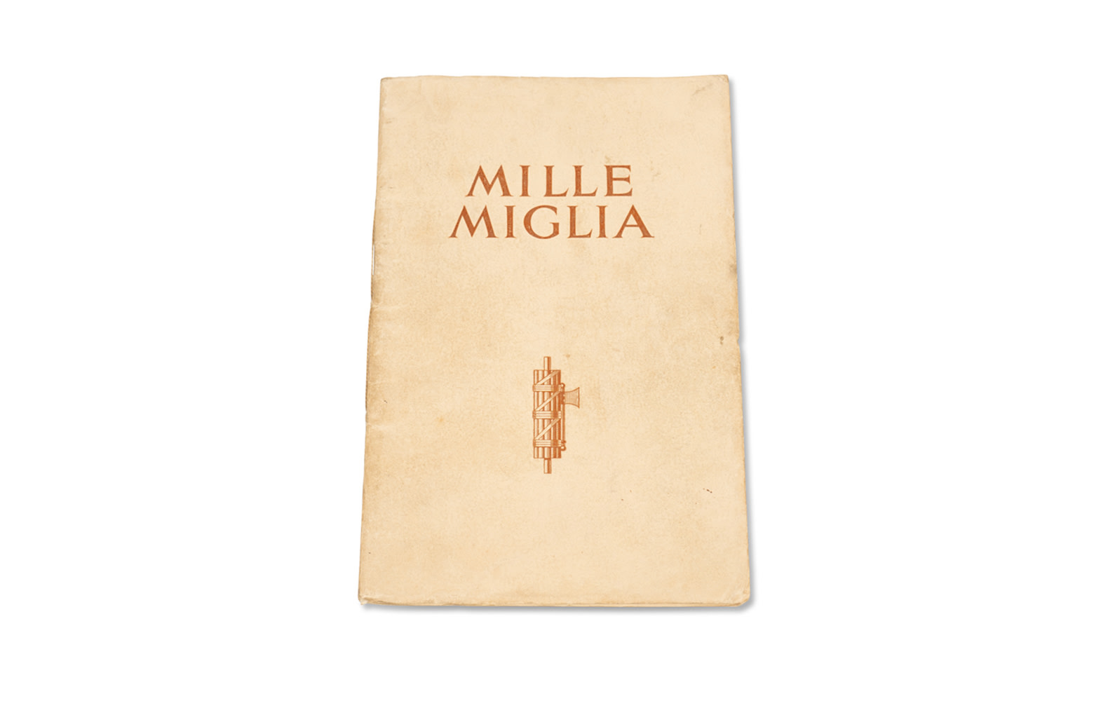 MG Brochure on Its Class Victory at the 1933 Mille Miglia