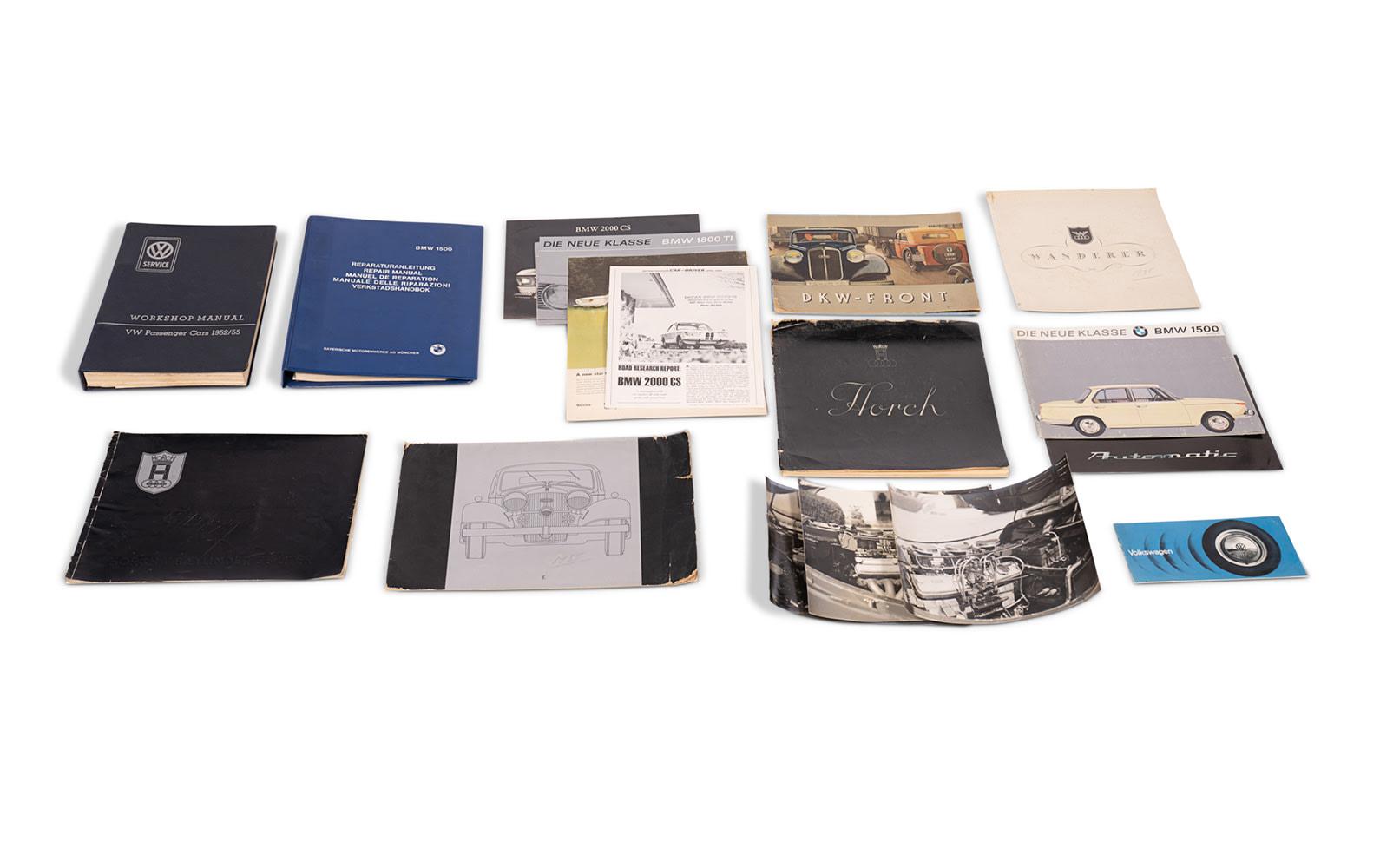 Assorted Literature on BMW, DKW, and Volkswagen