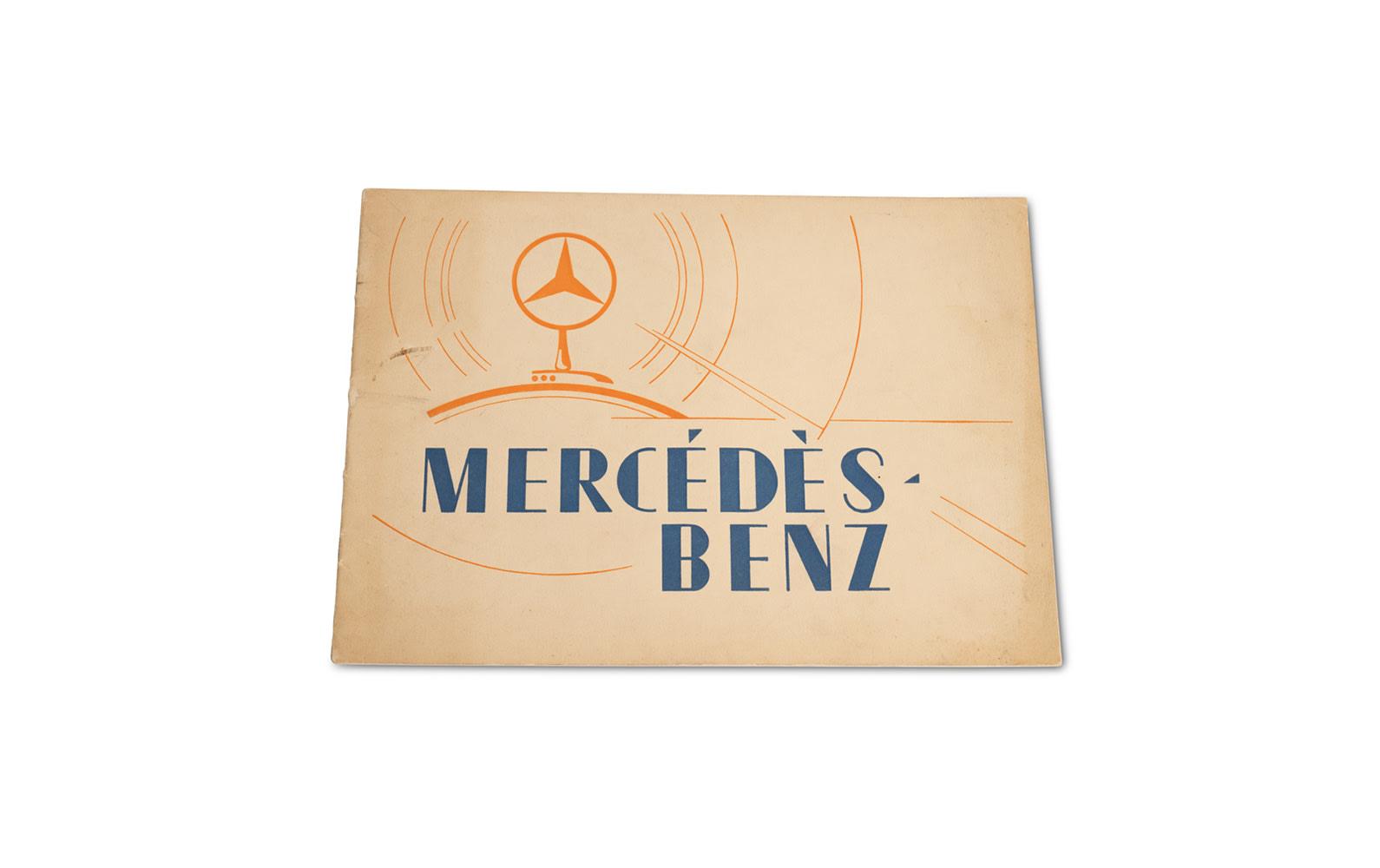 Mercedes-Benz Sales Brochure, 1928