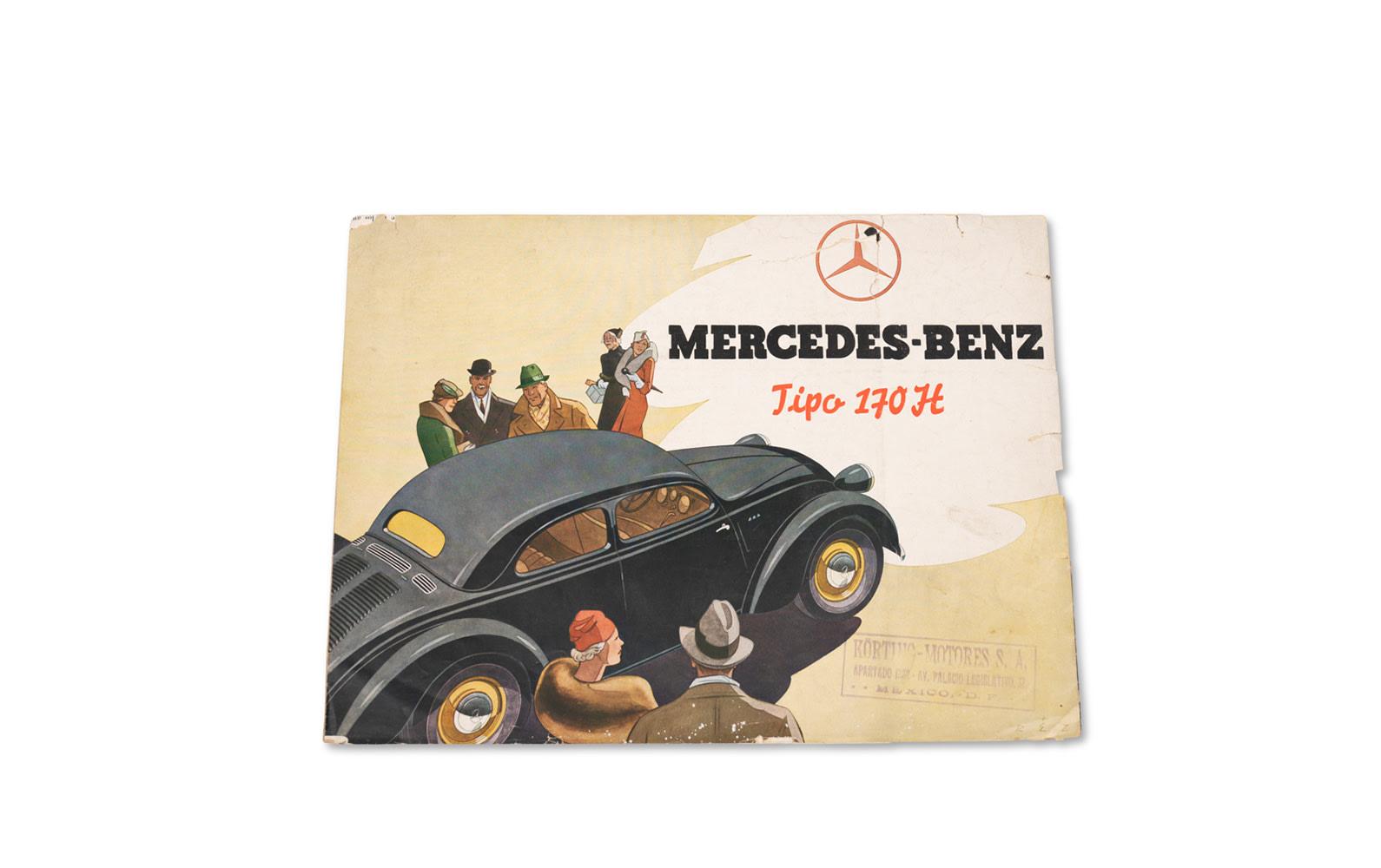 Mercedes-Benz Type 170 Sales Brochure