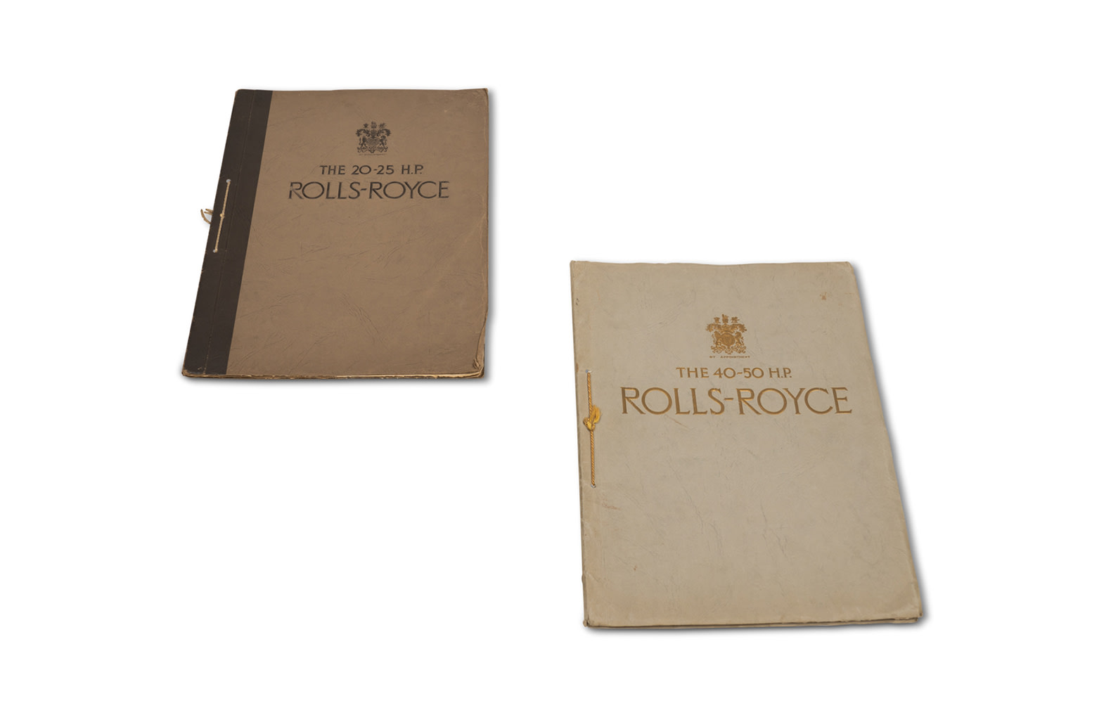Rolls-Royce Sales Brochures for Phantom II and 20/25 Models