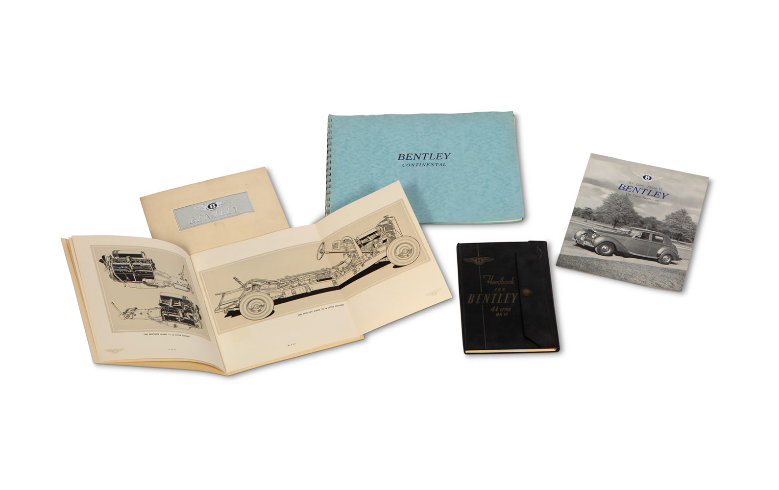 Bentley Literature for Mk VI and S2 Continental Models