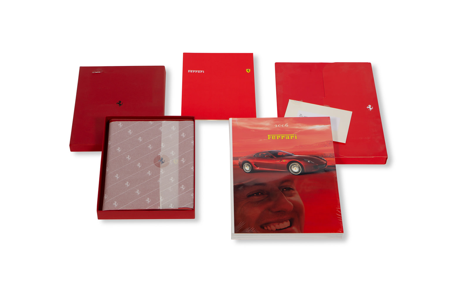 2006 Holiday Gift to Phil Hill From Ferrari, Including Planner and Yearbook