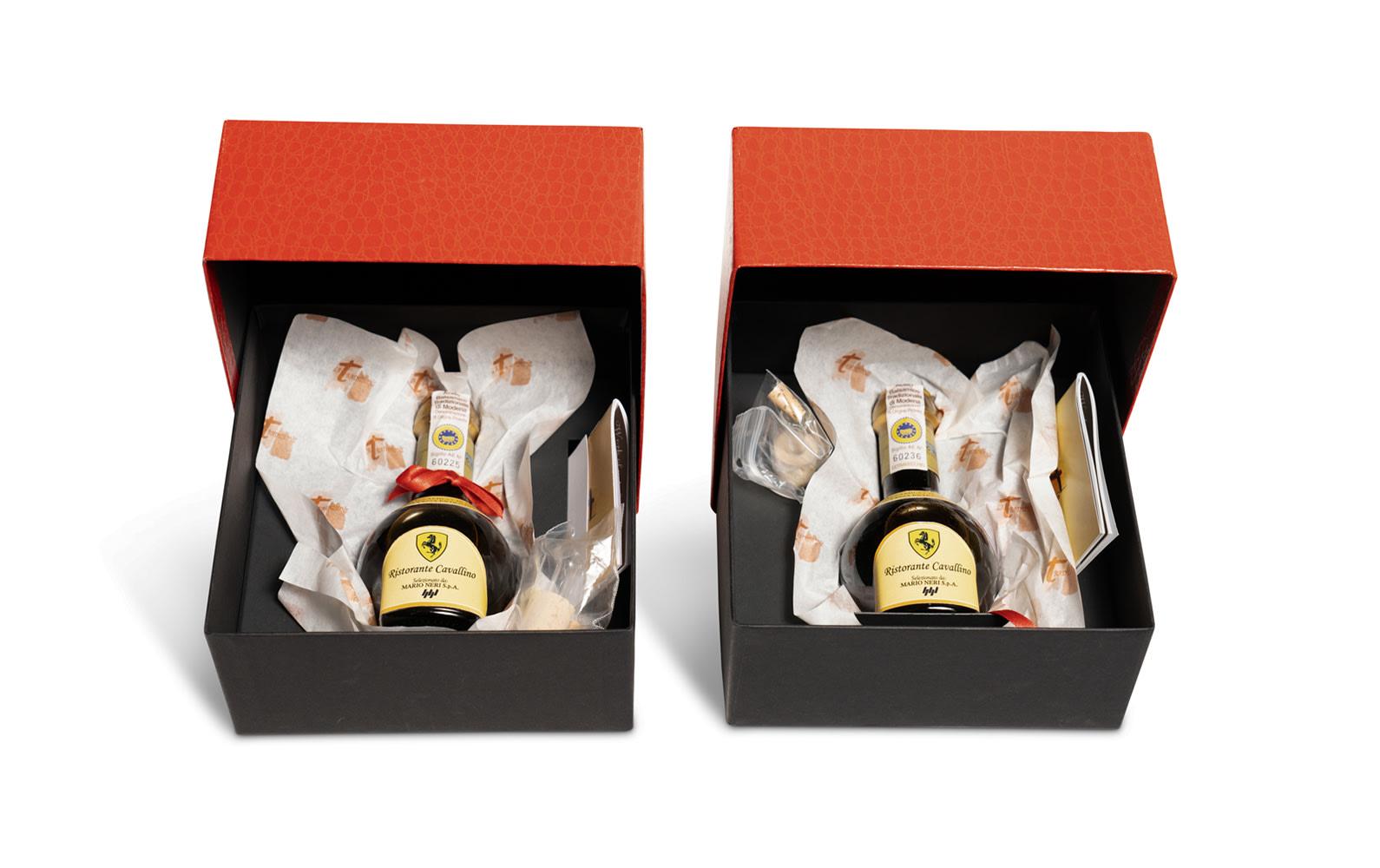 Balsamic Vinegar Gift Sets from Ristorante Cavallino, Maranello, Italy