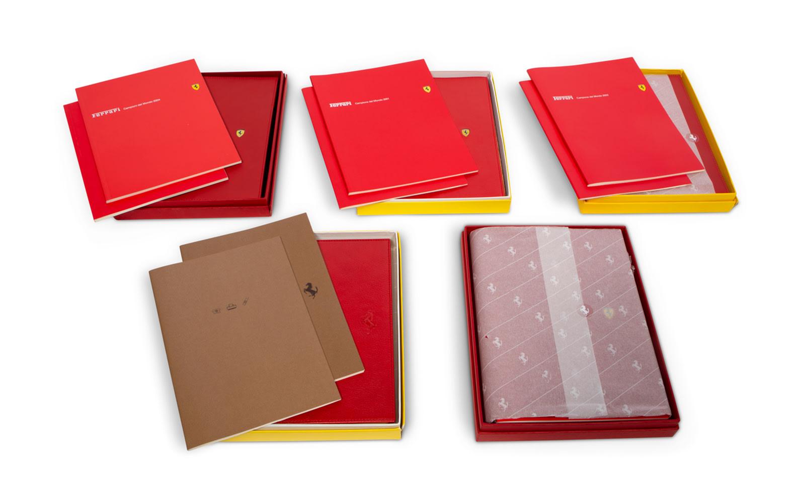 Collection of Ferrari Agenda Planners, 1998–2006