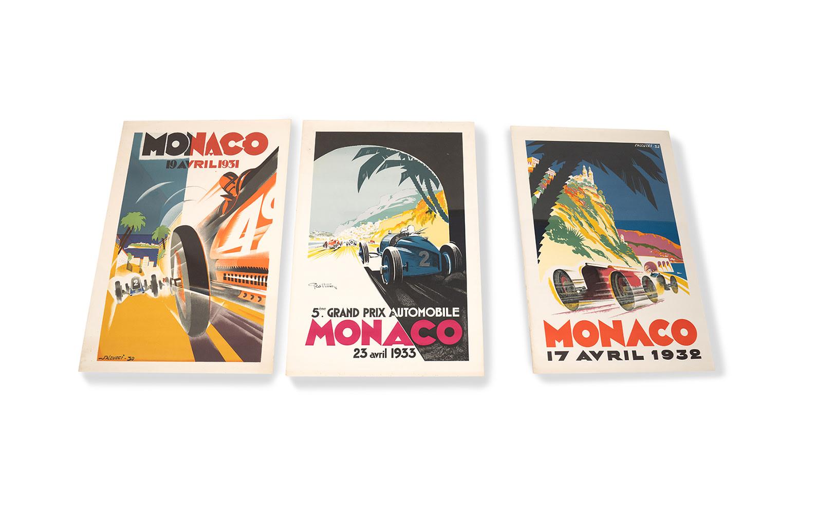 Collection of Monaco Grand Prix Posters