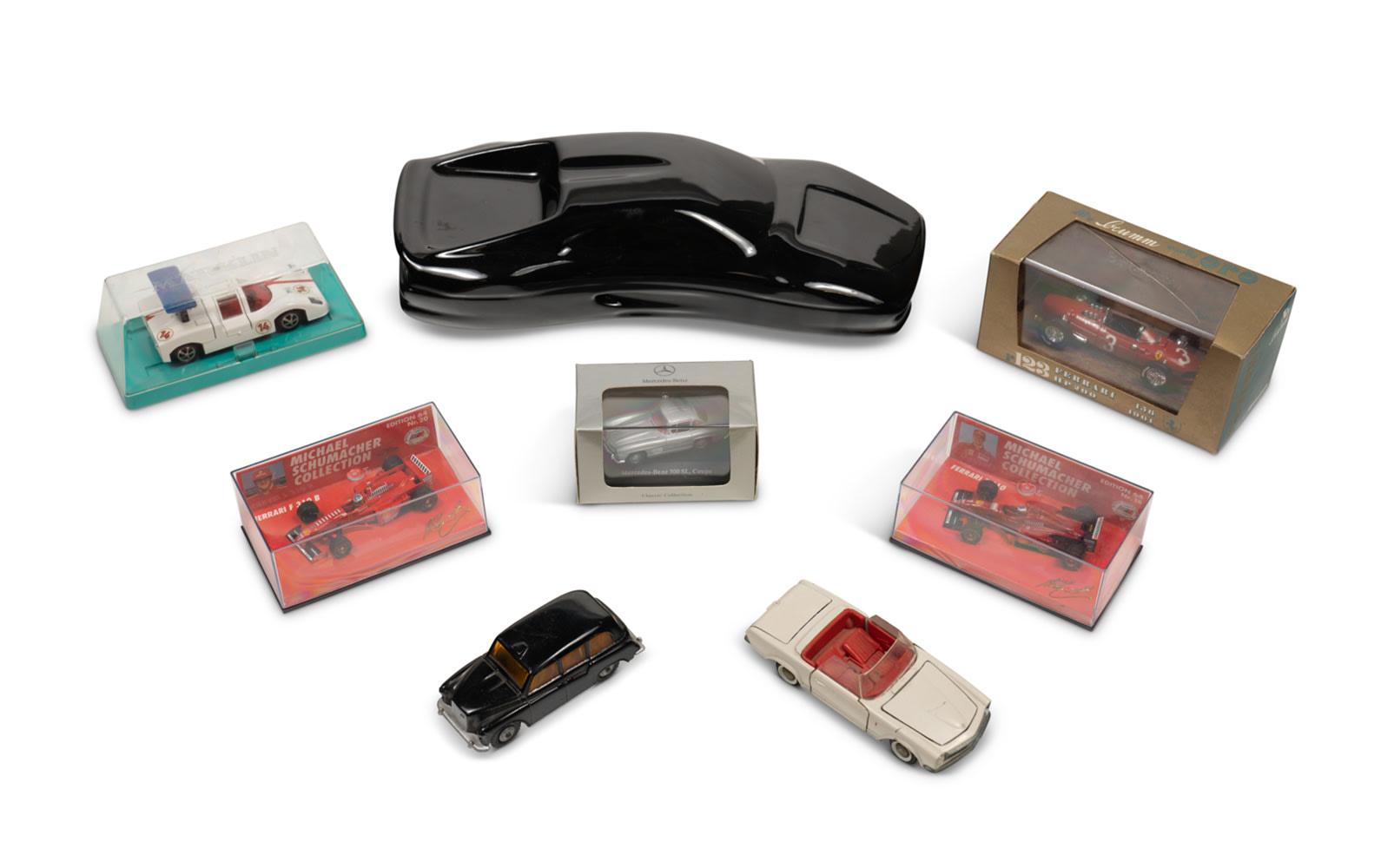 Assorted Small Car Models