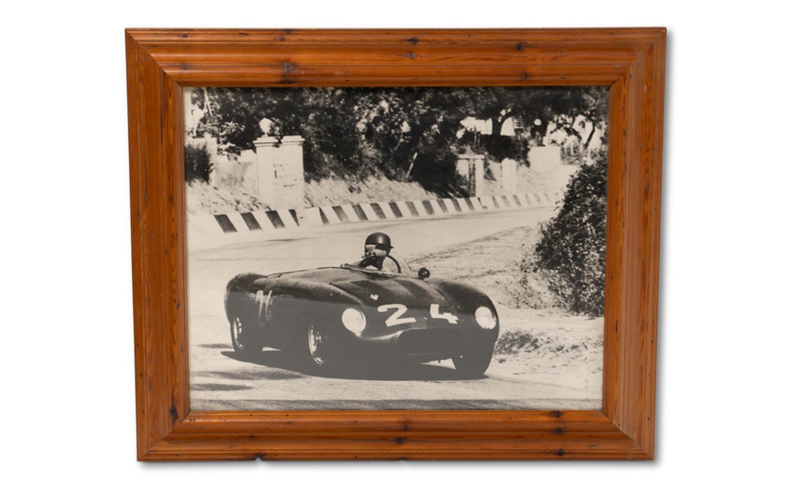 Photograph of an OSCA MT4-TN at the Targa Florio, Framed