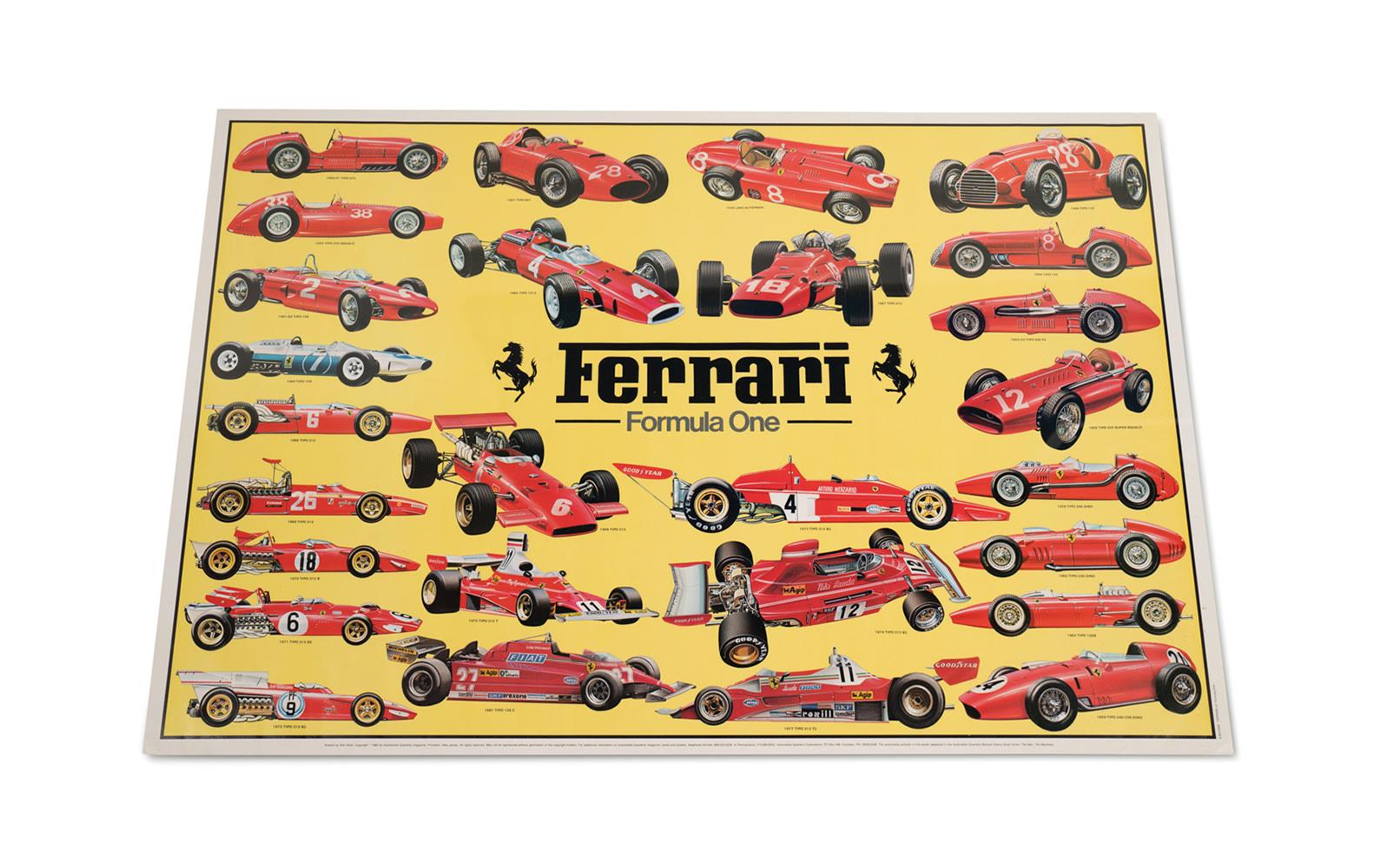 Ferrari Grand Prix Poster