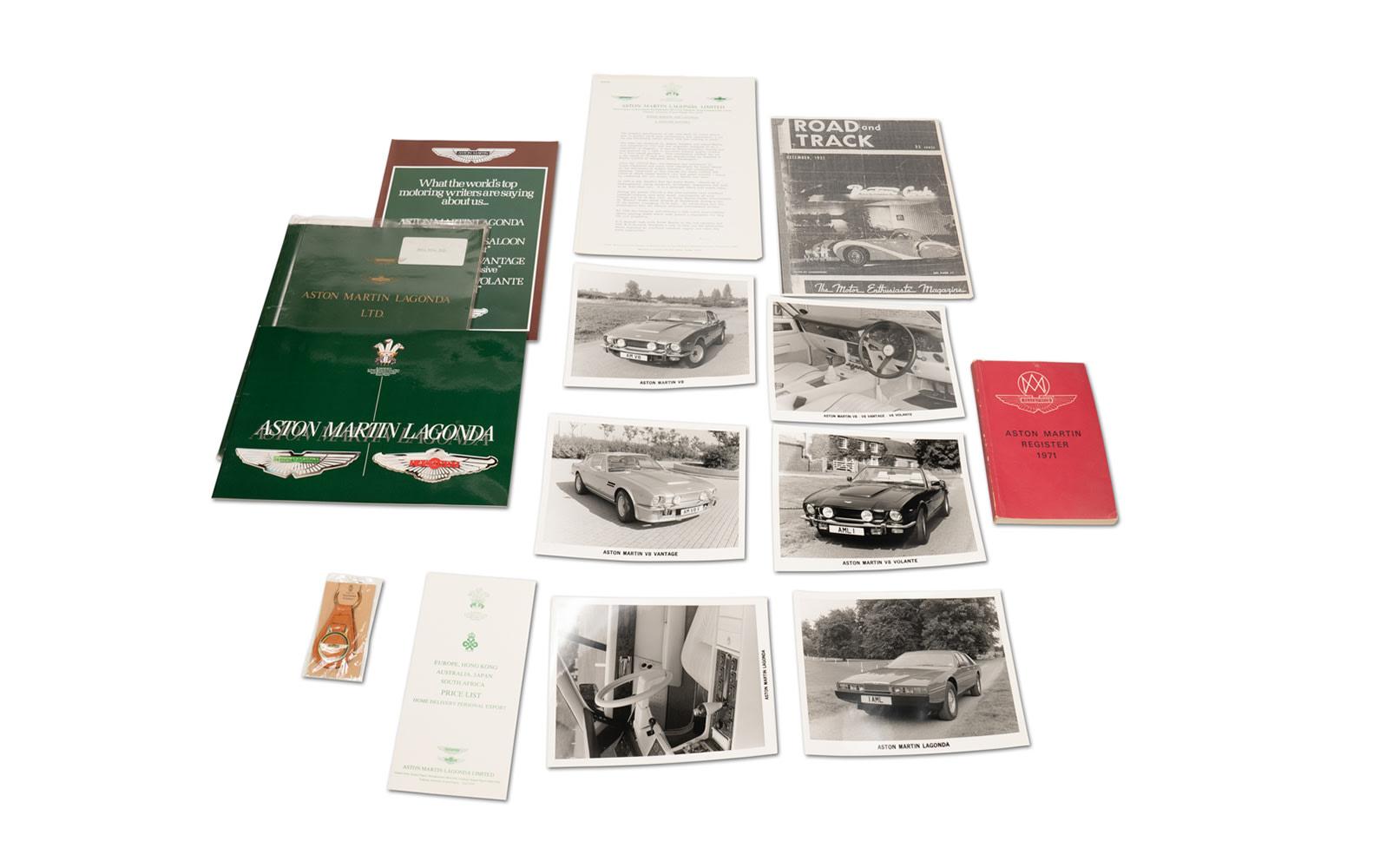 Assorted Aston Martin Lagonda Literature