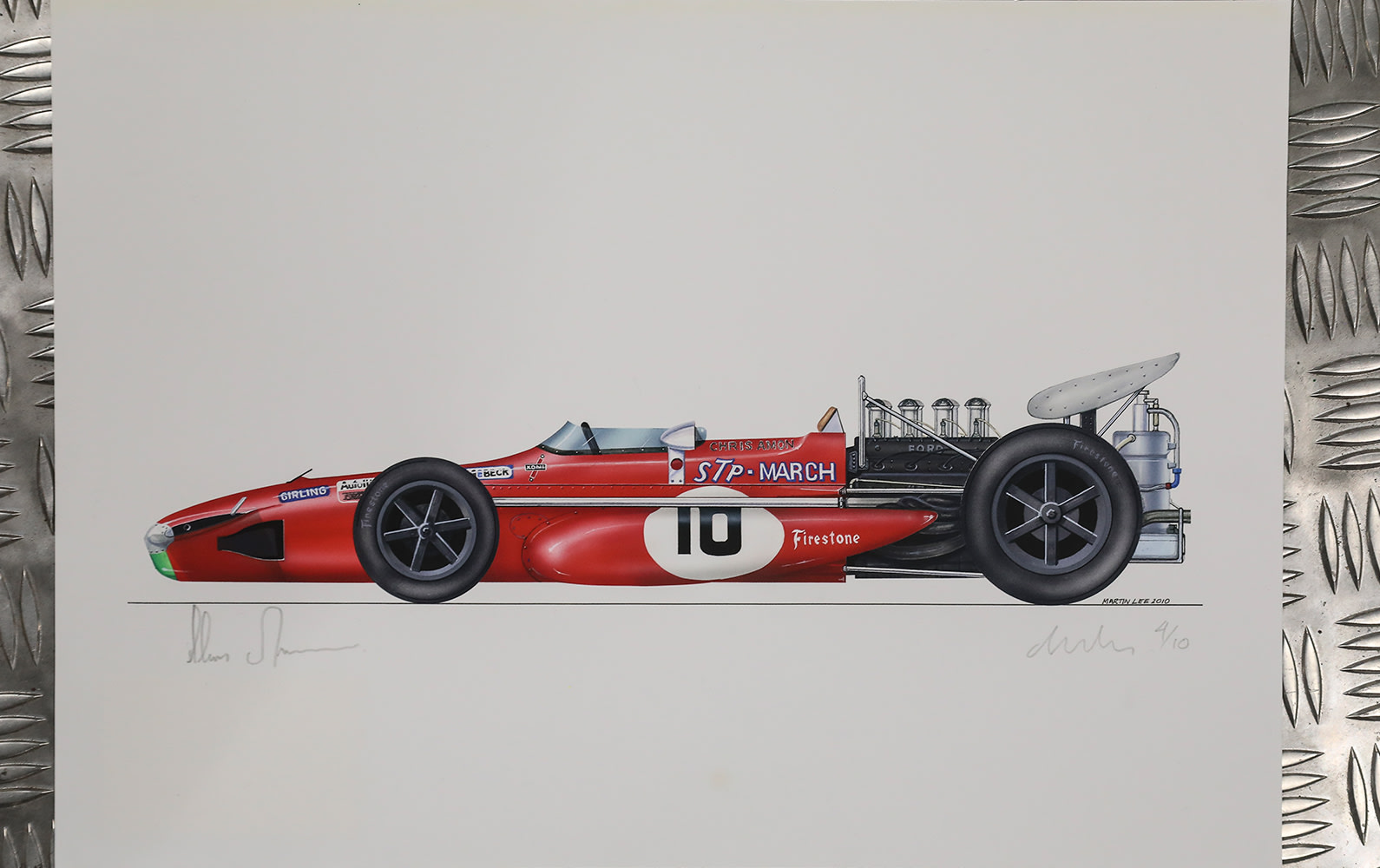 Chris Amon March 701 Limited-Edition Print