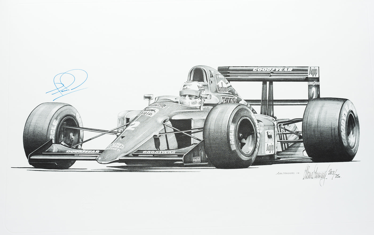 Alan Stammers World Championship Print Collection