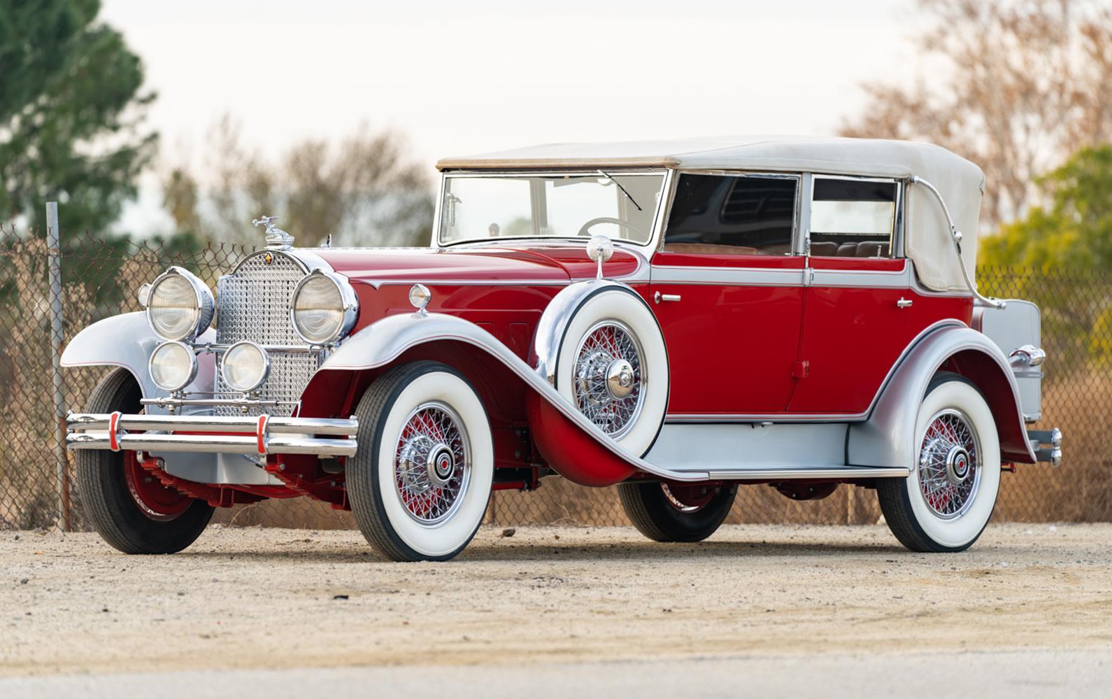 1930 Packard Deluxe Eight 745 Convertible Sedan