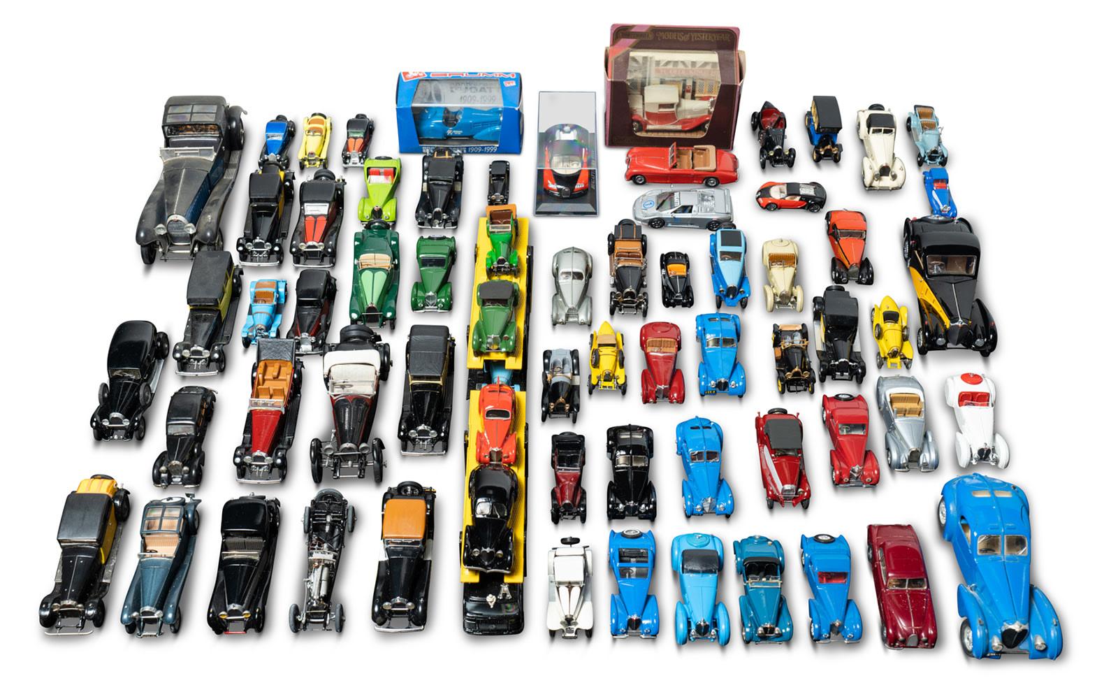 Assorted Bugatti Road Car Models