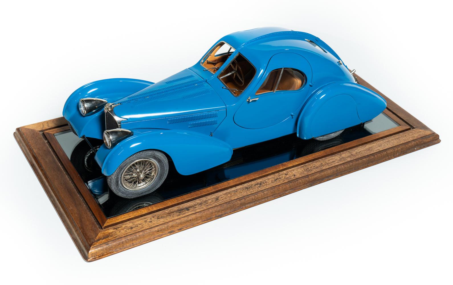 Bugatti Type 57SC Atlantic Model by Antonietti-Bossac