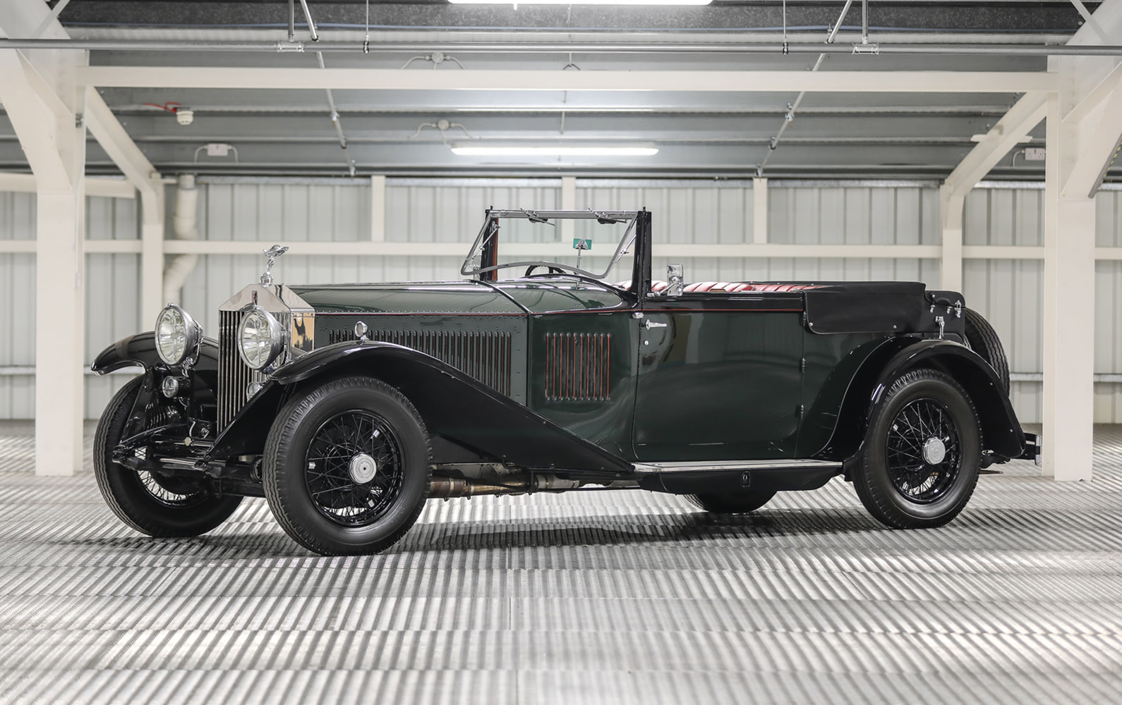 1930 Rolls-Royce Phantom II Continental Drophead Coupe