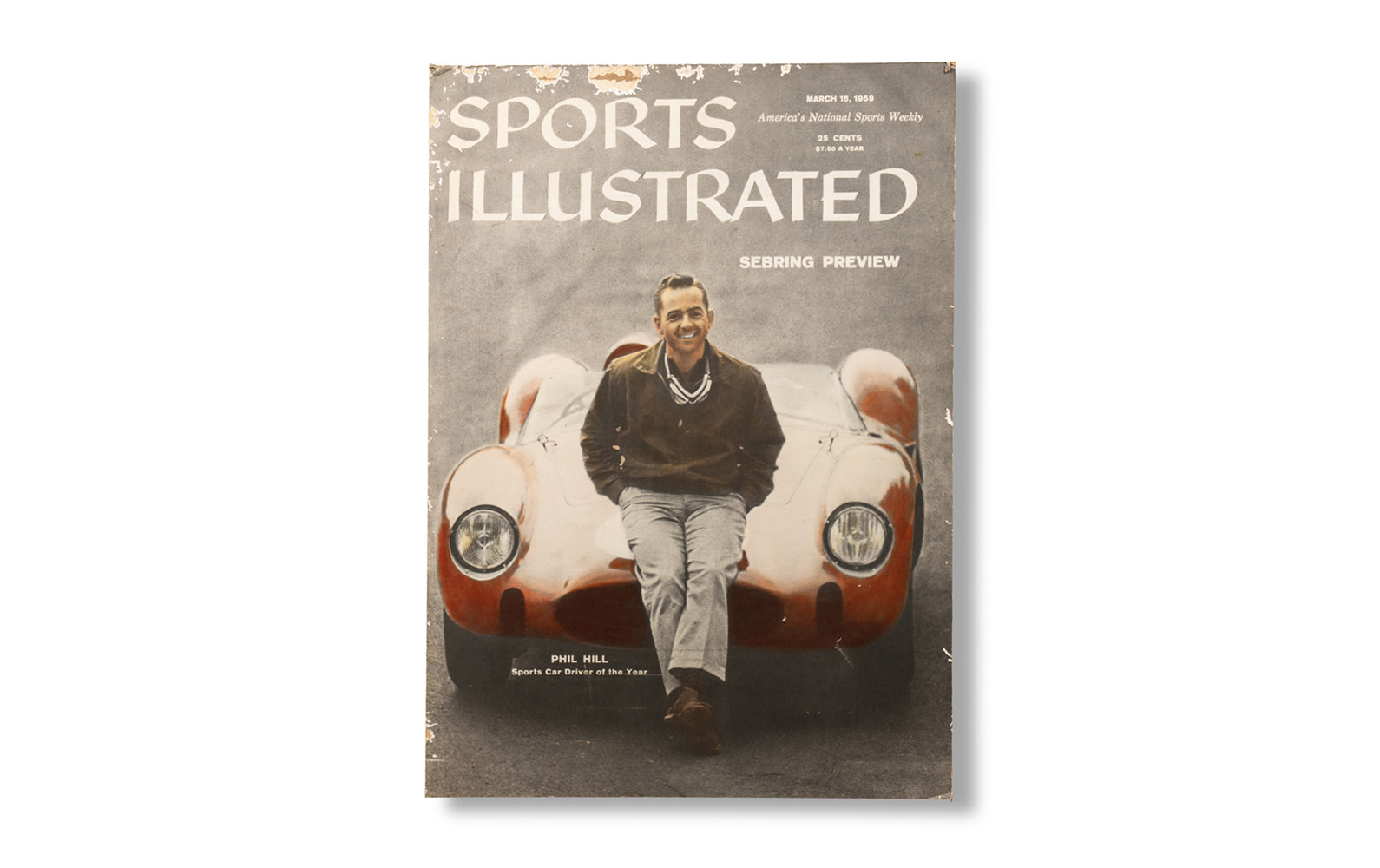 Poster of 1959 Sports Illustrated Magazine Cover