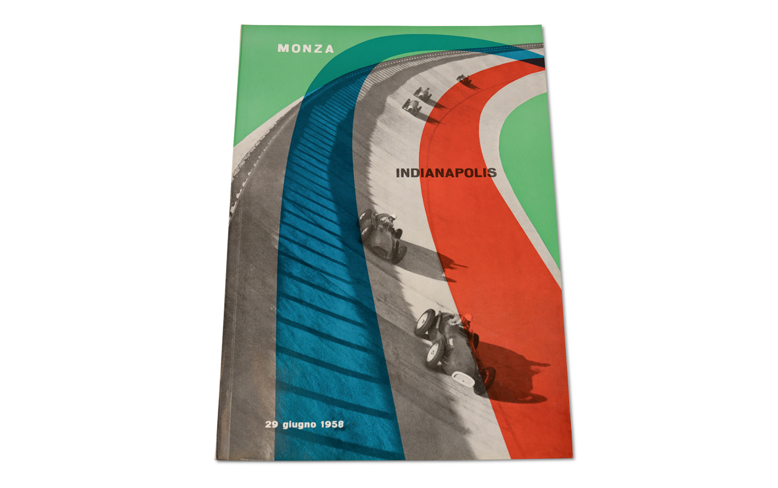 1958 Monza-Indianapolis Official Race Program