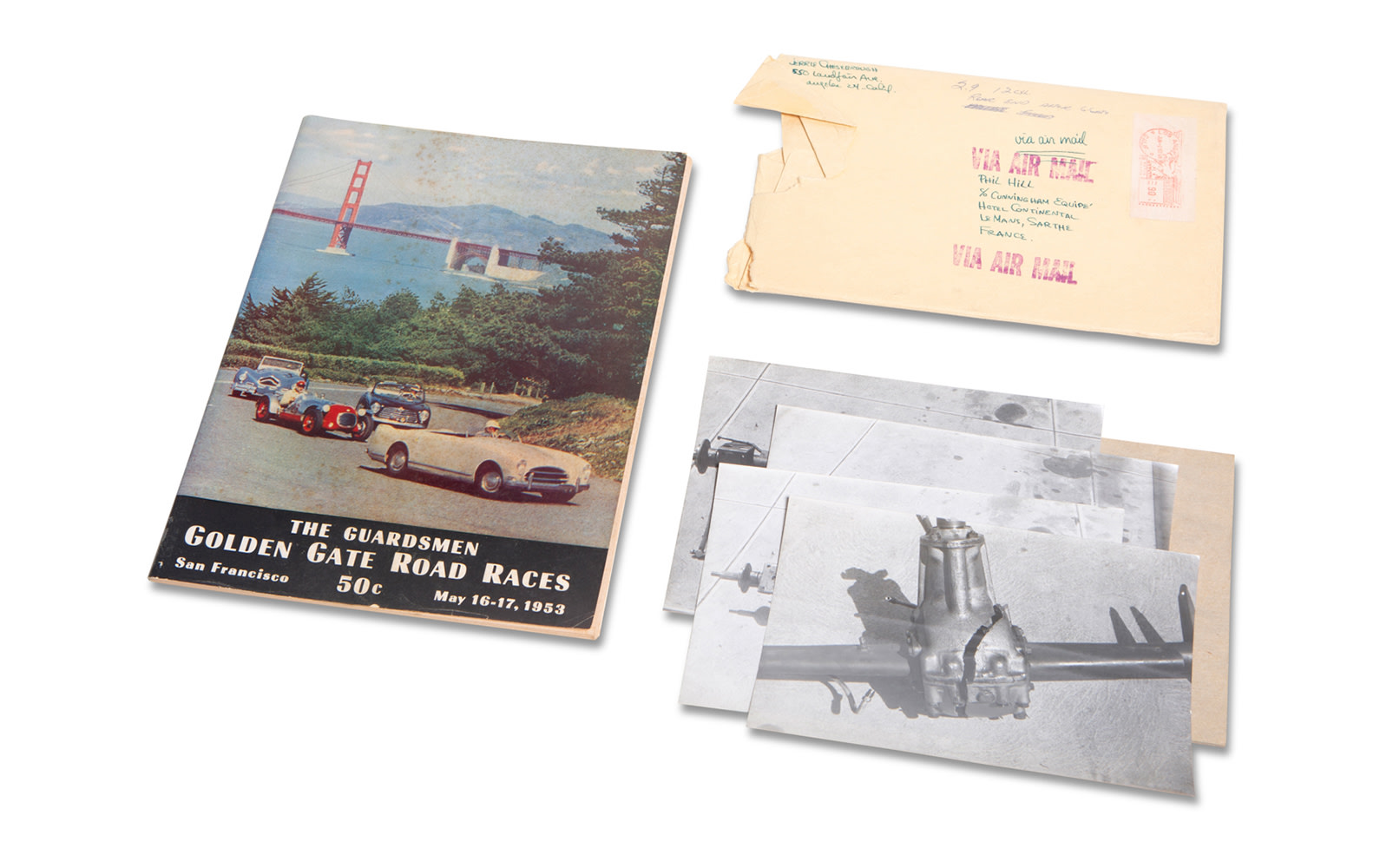 1953 Golden Gate Road Races Official Program and Photographs