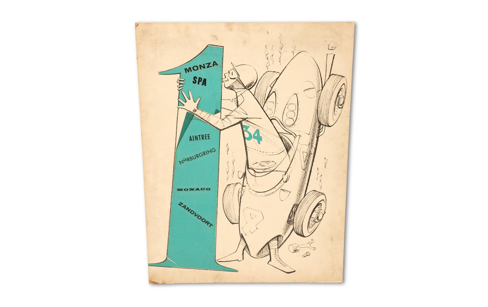 Prod/O21C - Phil Hill B 2021/B0159_1961 Grand Prix World Championship Artwork/B0159_1961_Grand_Prix_World_Championship_Artwork_1_rnp0sy