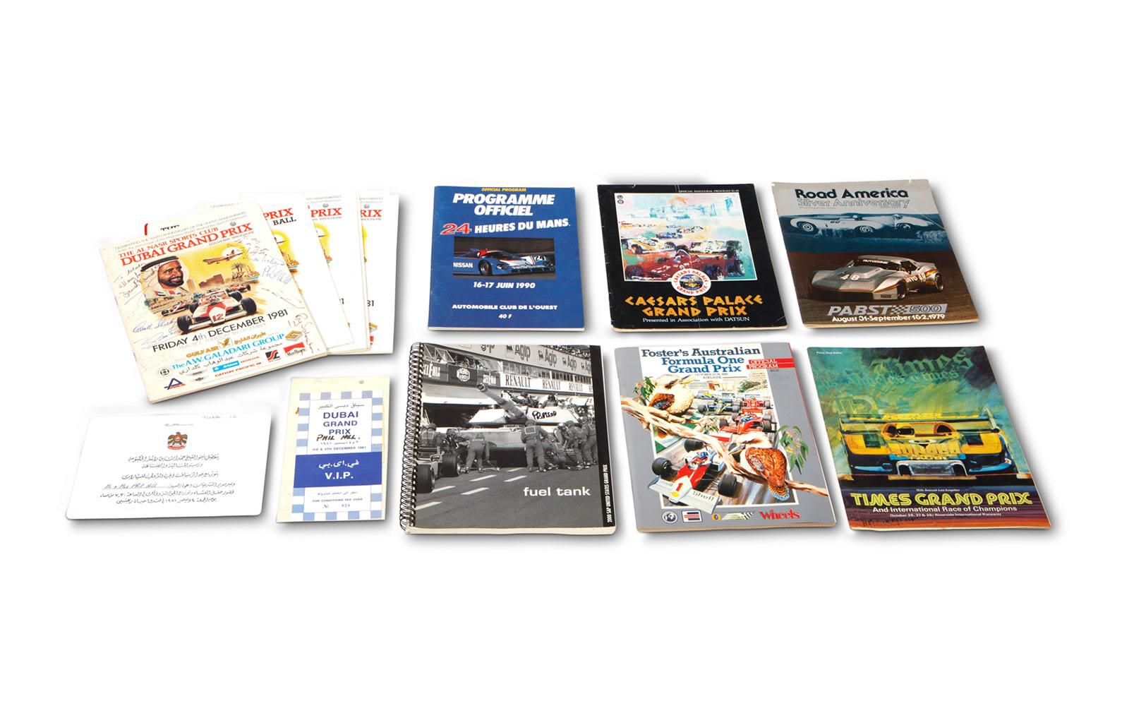 Assorted Racing Programs