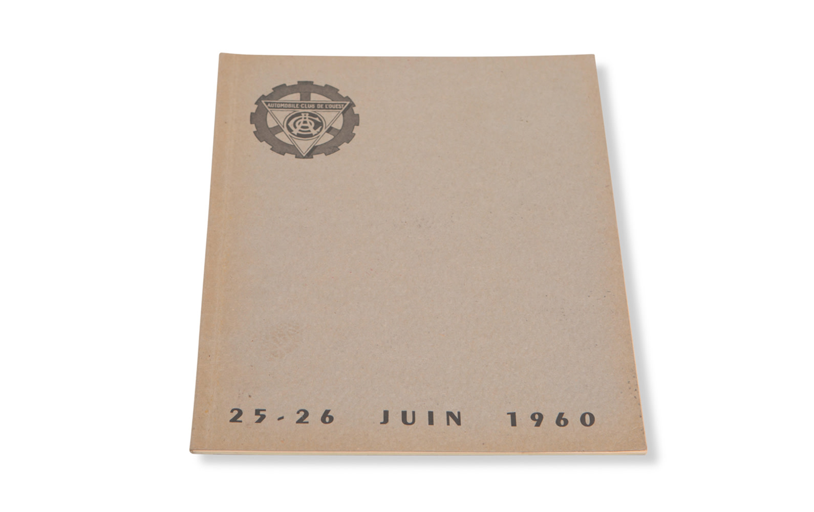 1960 24 Hours of Le Mans Regulations Book