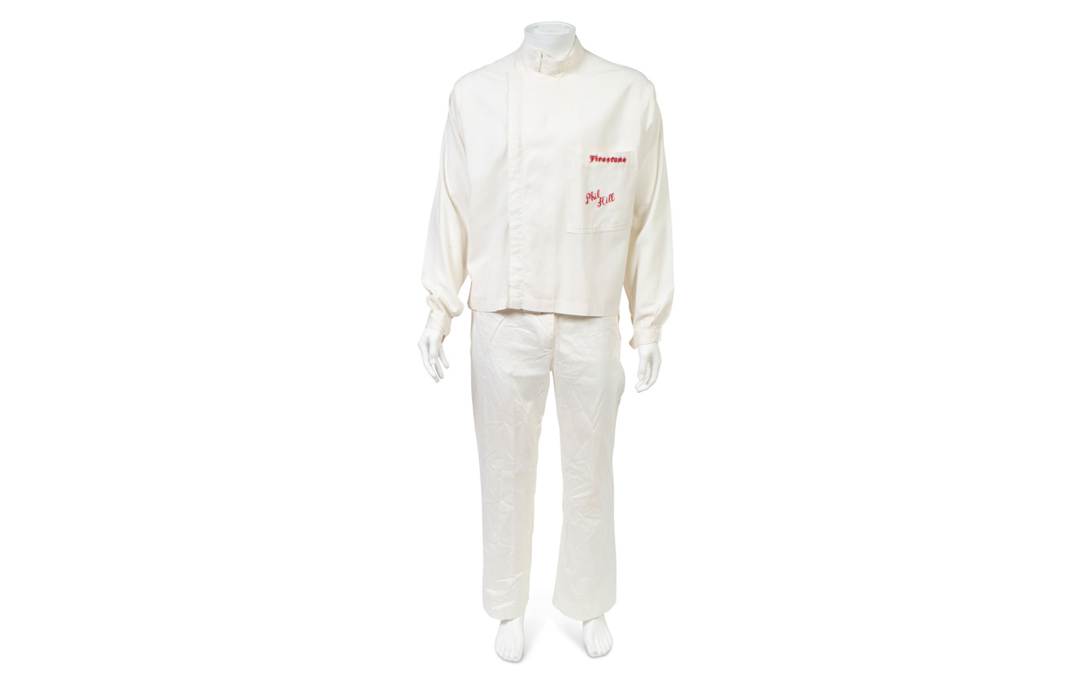 Two-Piece Driving Suit, Used During Phil Hill's Time with the Chaparral Racing Team
