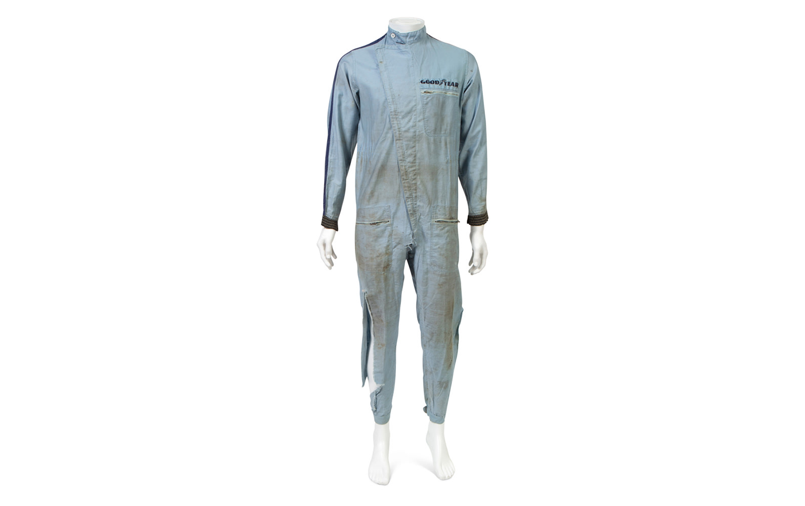 Les Leston Ltd. One-Piece Driving Suit Worn by Phil Hill During Filming of Movie Grand Prix