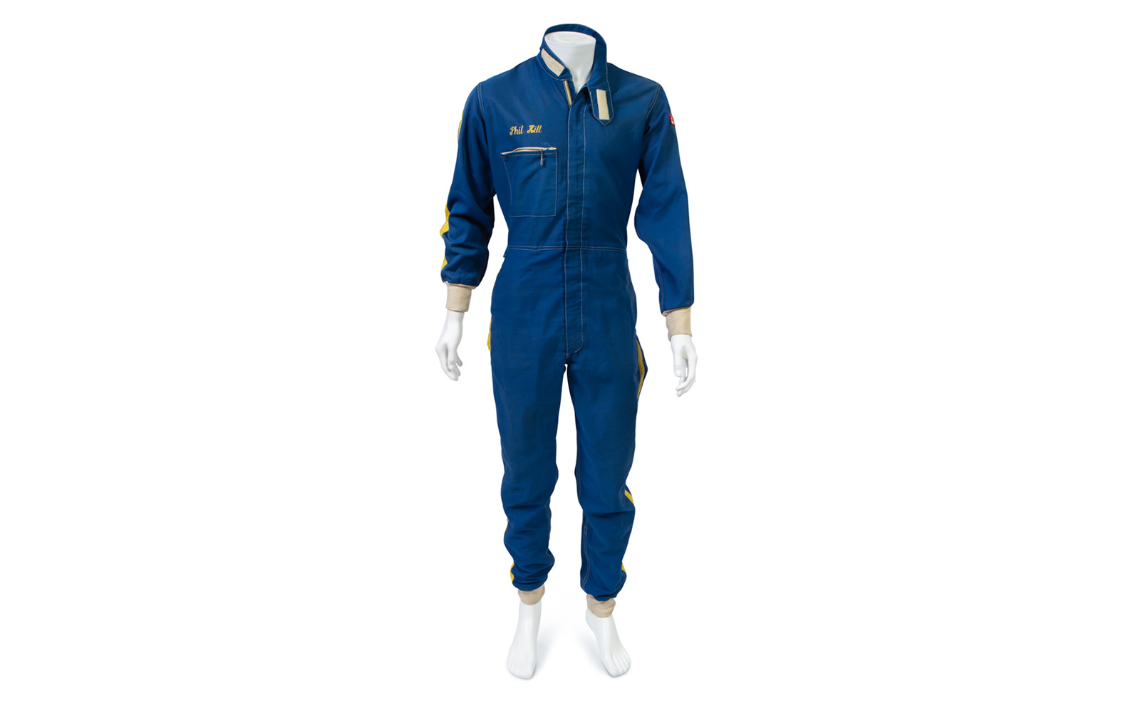 Prod/O21C - Phil Hill B 2021/B0268_Simpson Nomex Driving Suit/B0268_Simpson_Nomex_Driving_Suit_1_yqavri