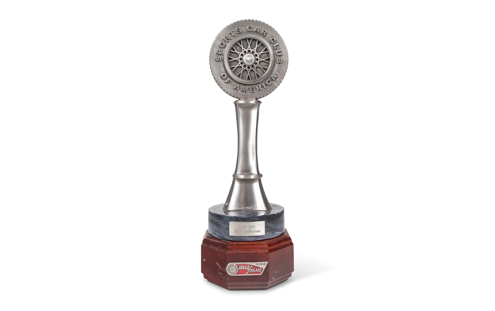 2017 SCCA Hall of Fame Trophy