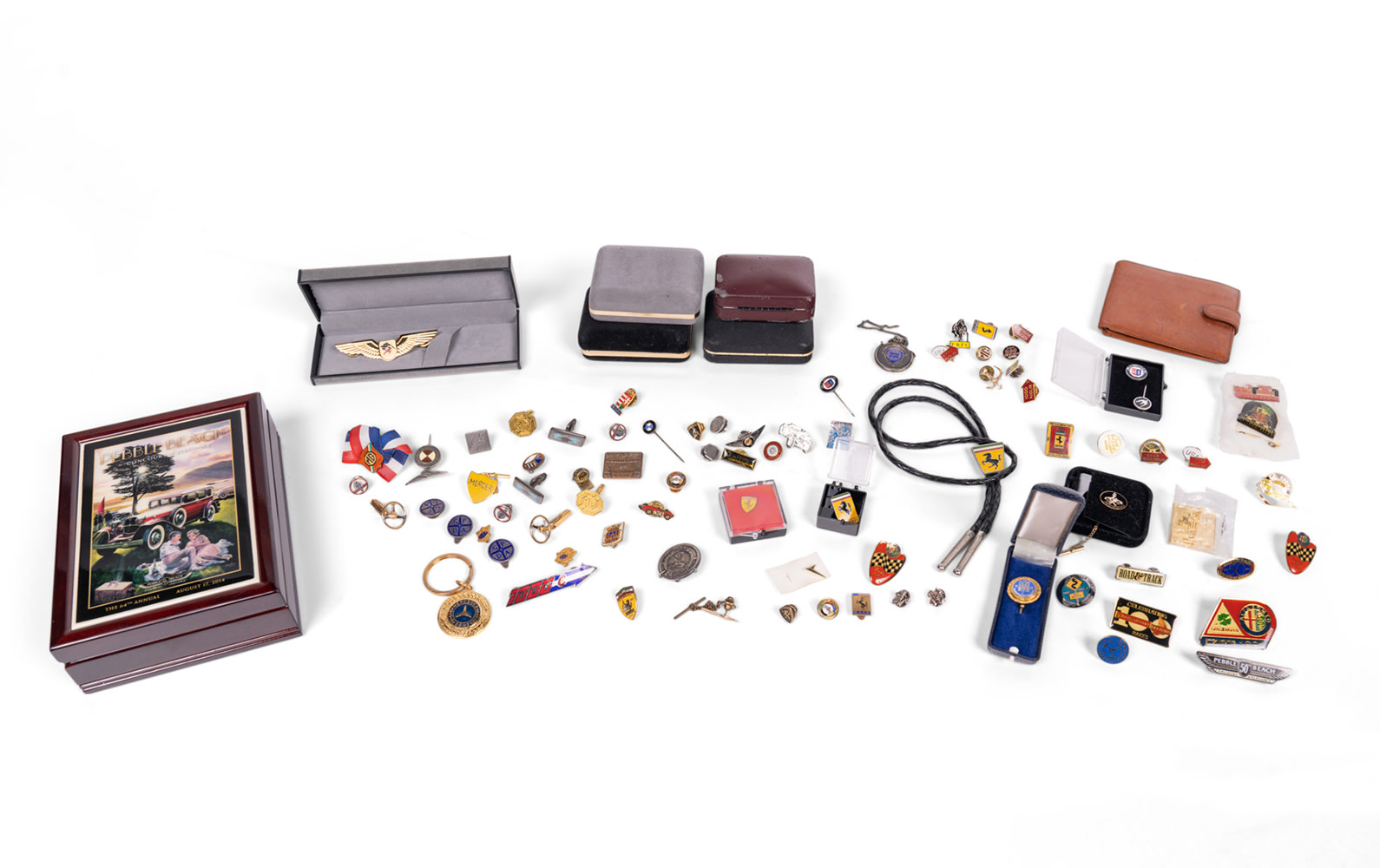 Assorted Pins and Cufflinks