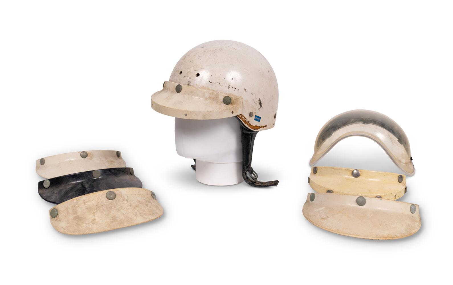 Racing Helmet Worn by Phil Hill, c. 1963–1967