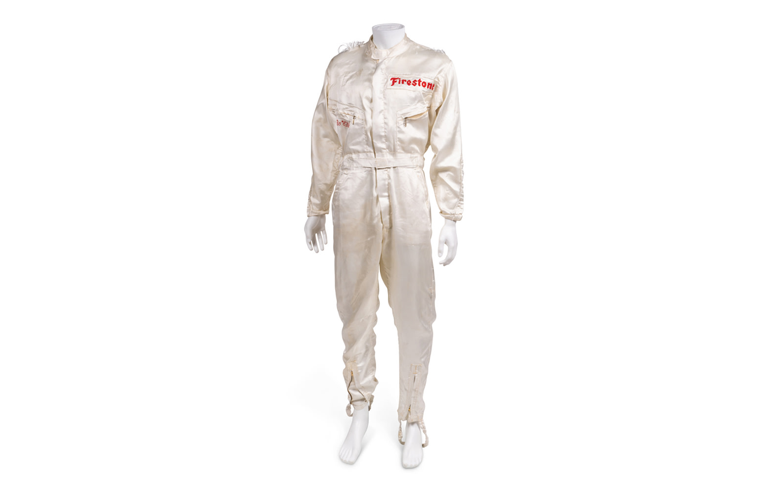 One-Piece Driving Suit Used During Phil Hill's Time with the Chaparral Racing Team (Damaged)