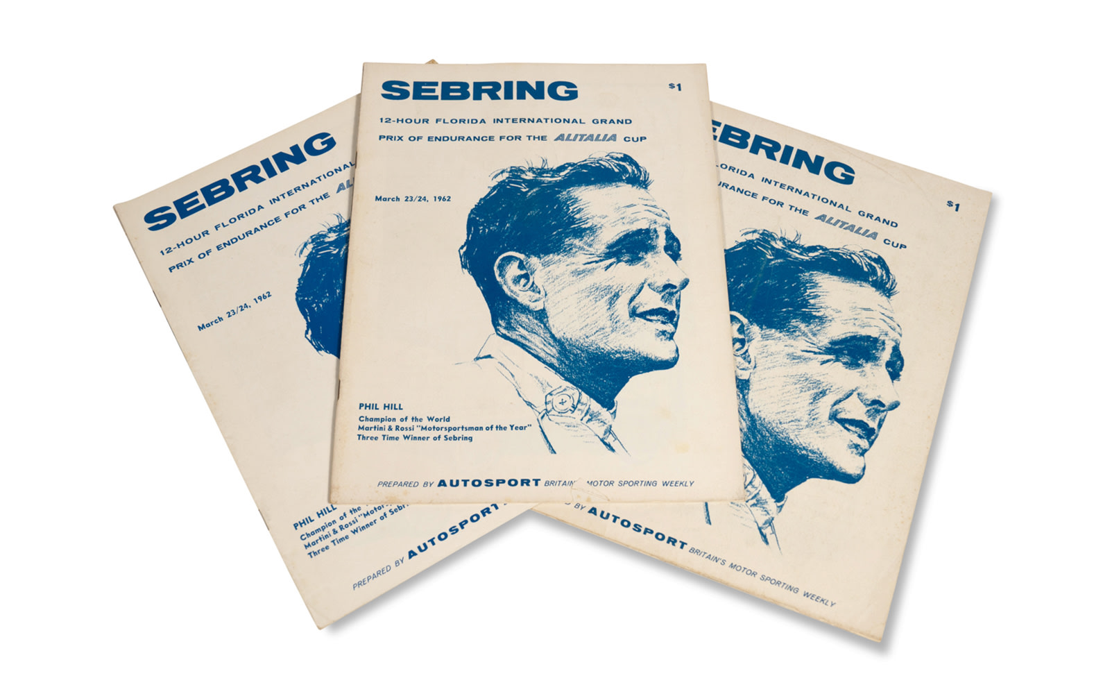 1962 12 Hours of Sebring Press Kit and Official Race Programs