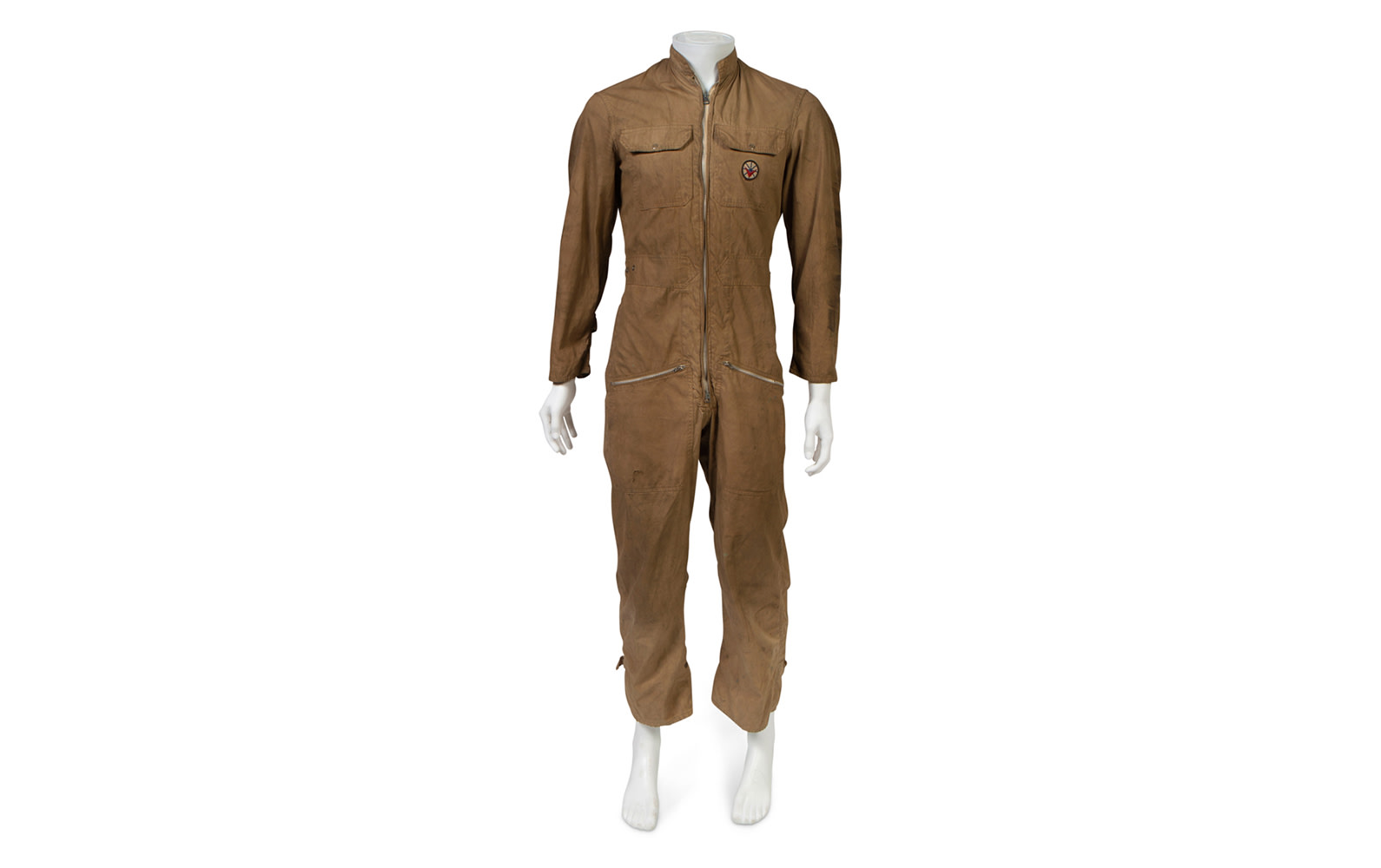 c. 1950s Racing Suit, Worn by Phil Hill at the 1956 Palm Springs Road Races
